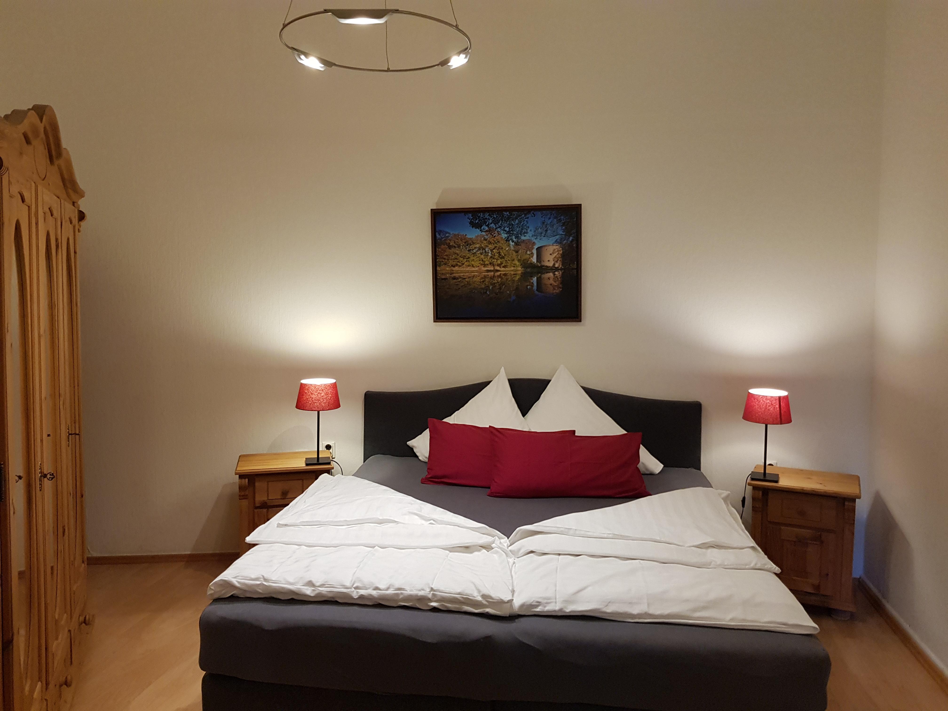 Goslarer Zwinger - Schlafzimmer Fewo Burggräfin