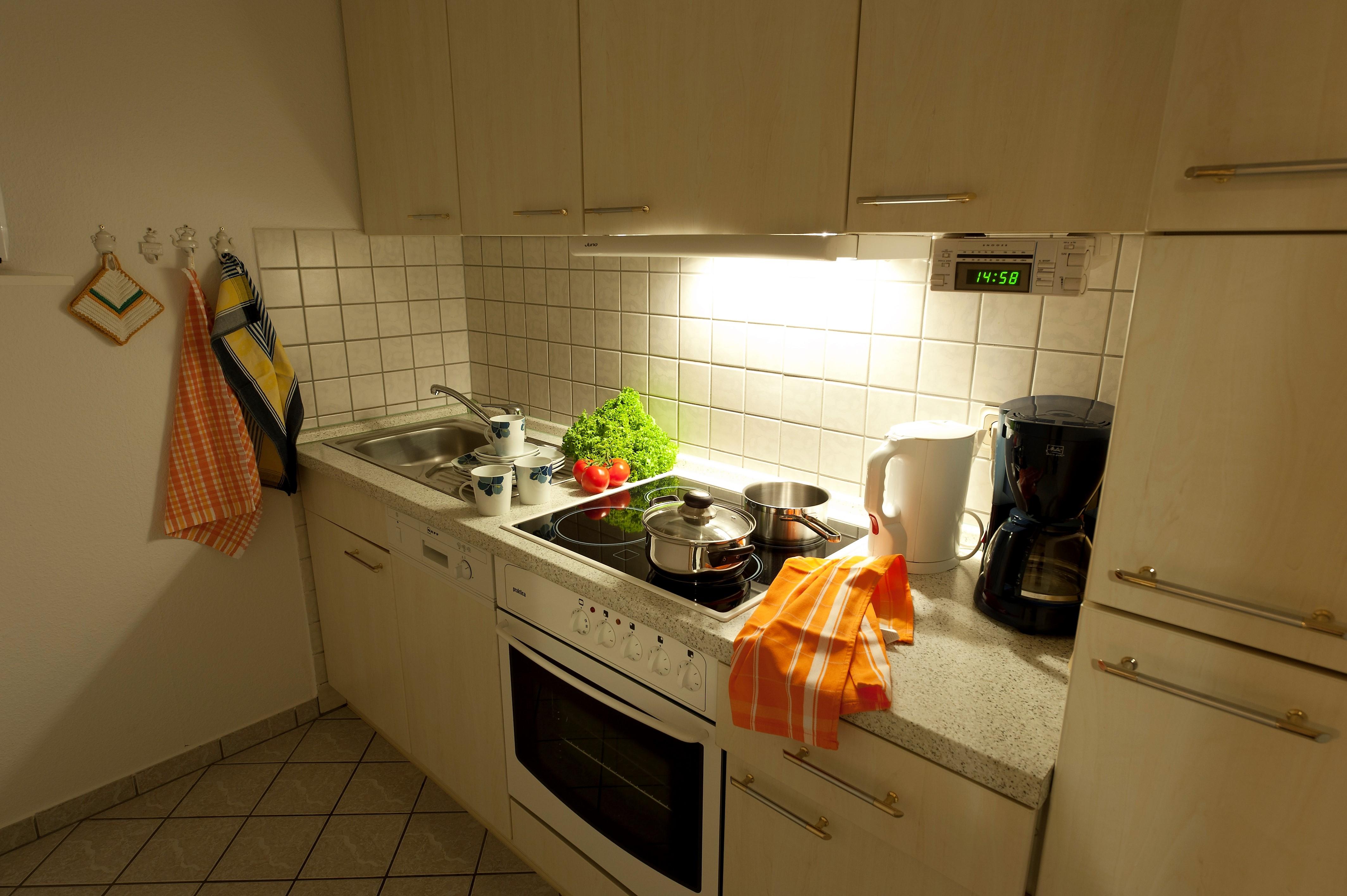 Goslarer Zwinger - Küche Fewo Burggräfin