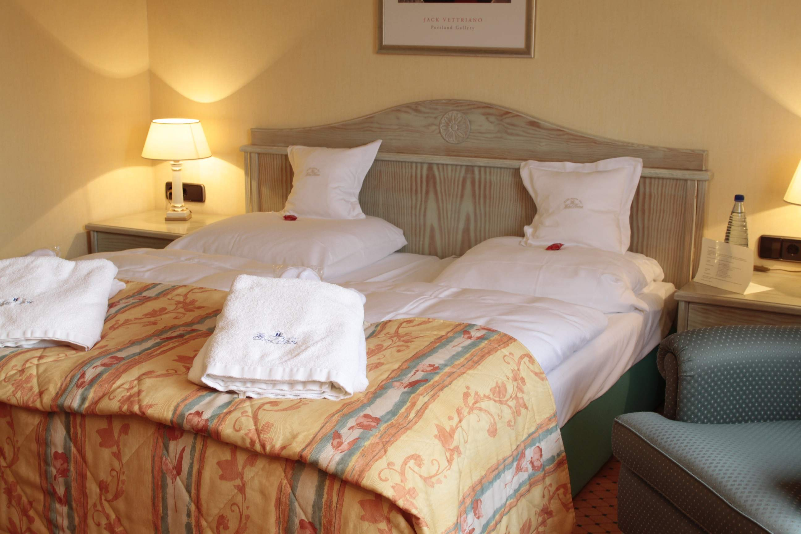 Hotel Villa Heine in Halberstadt - Schlafzimmer