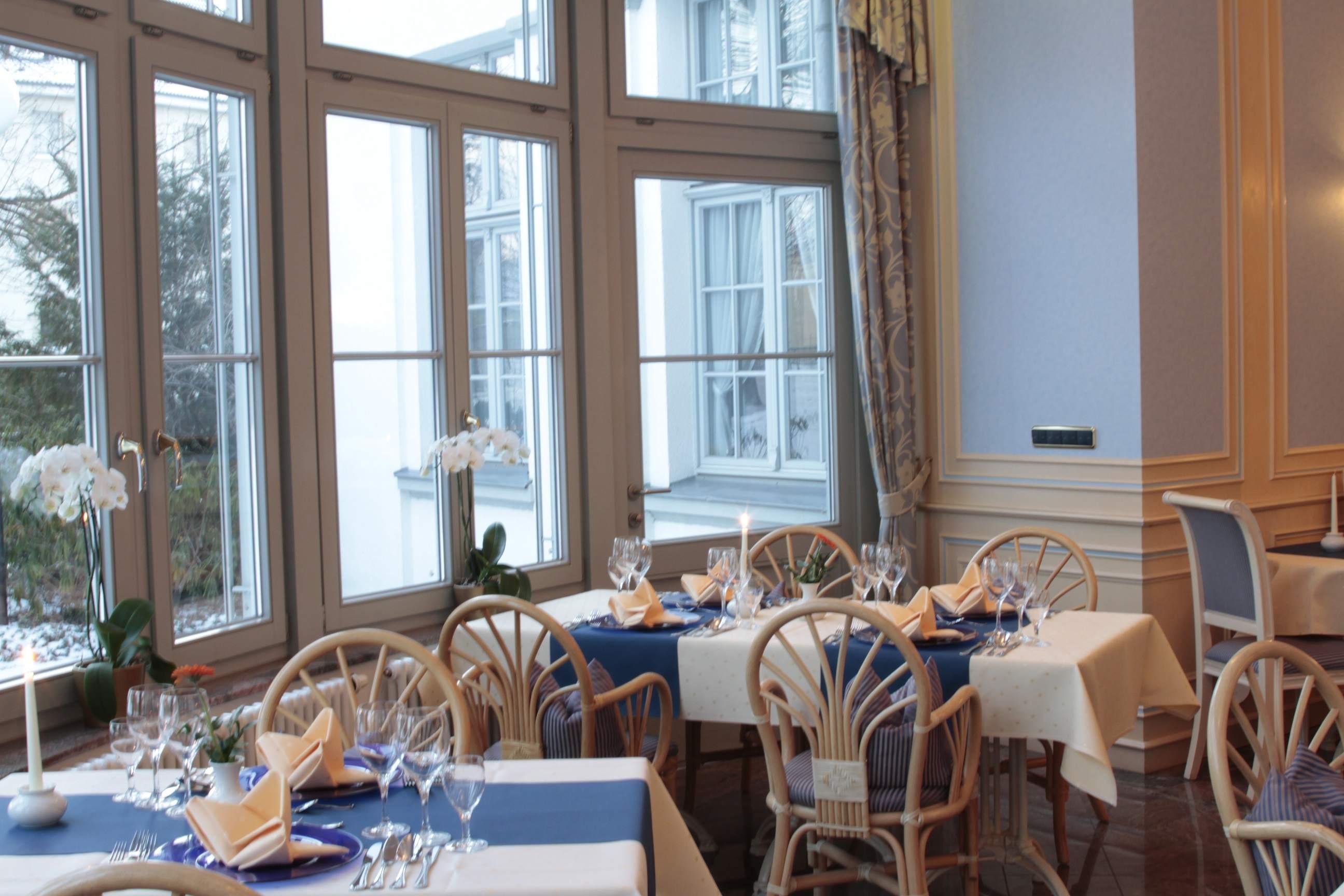 Hotel Villa Heine in Halberstadt - Wintergarten