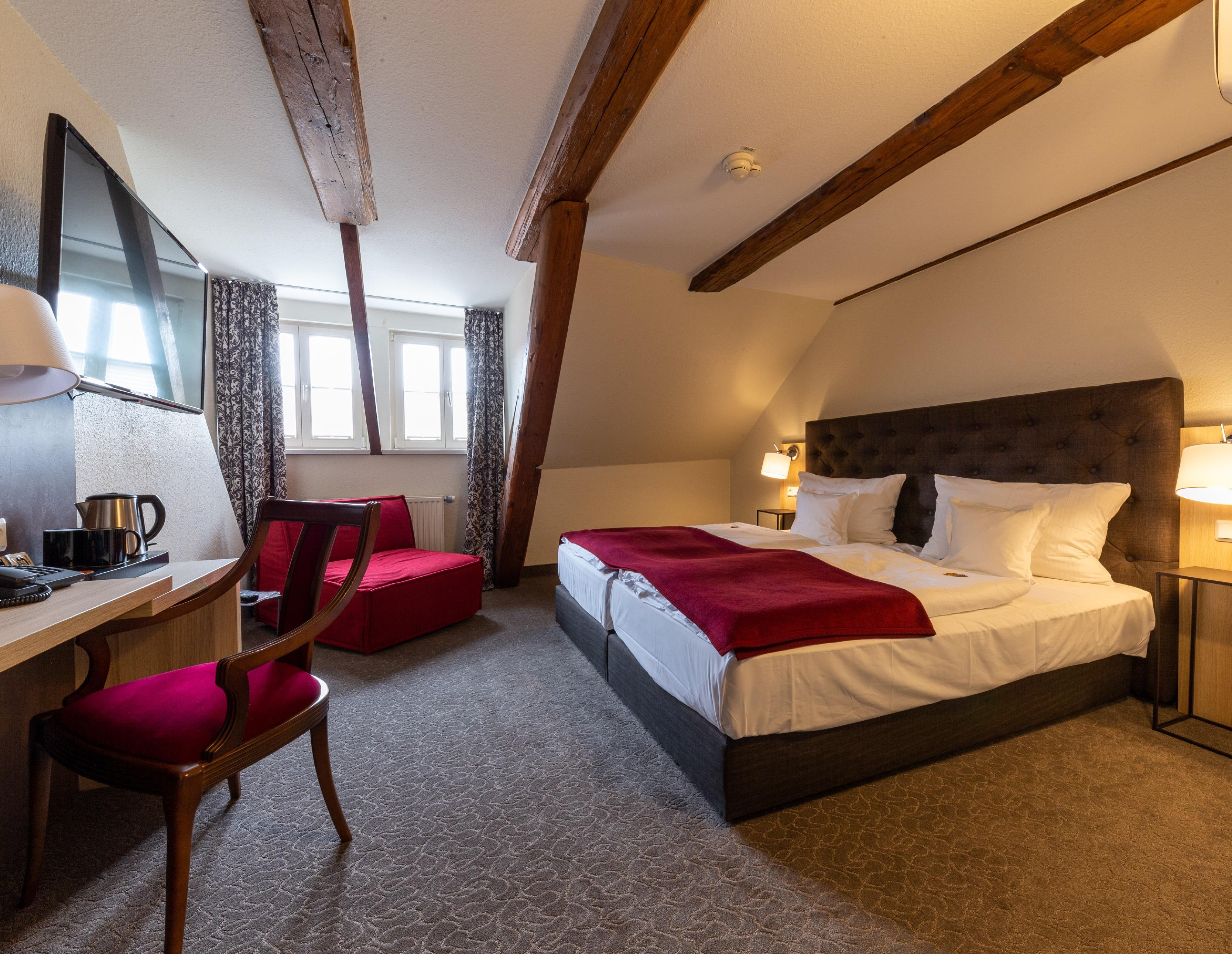 BEST WESTERN Hotel Schlossmühle in Quedlinburg - Doppelzimmer komfort im Altbau