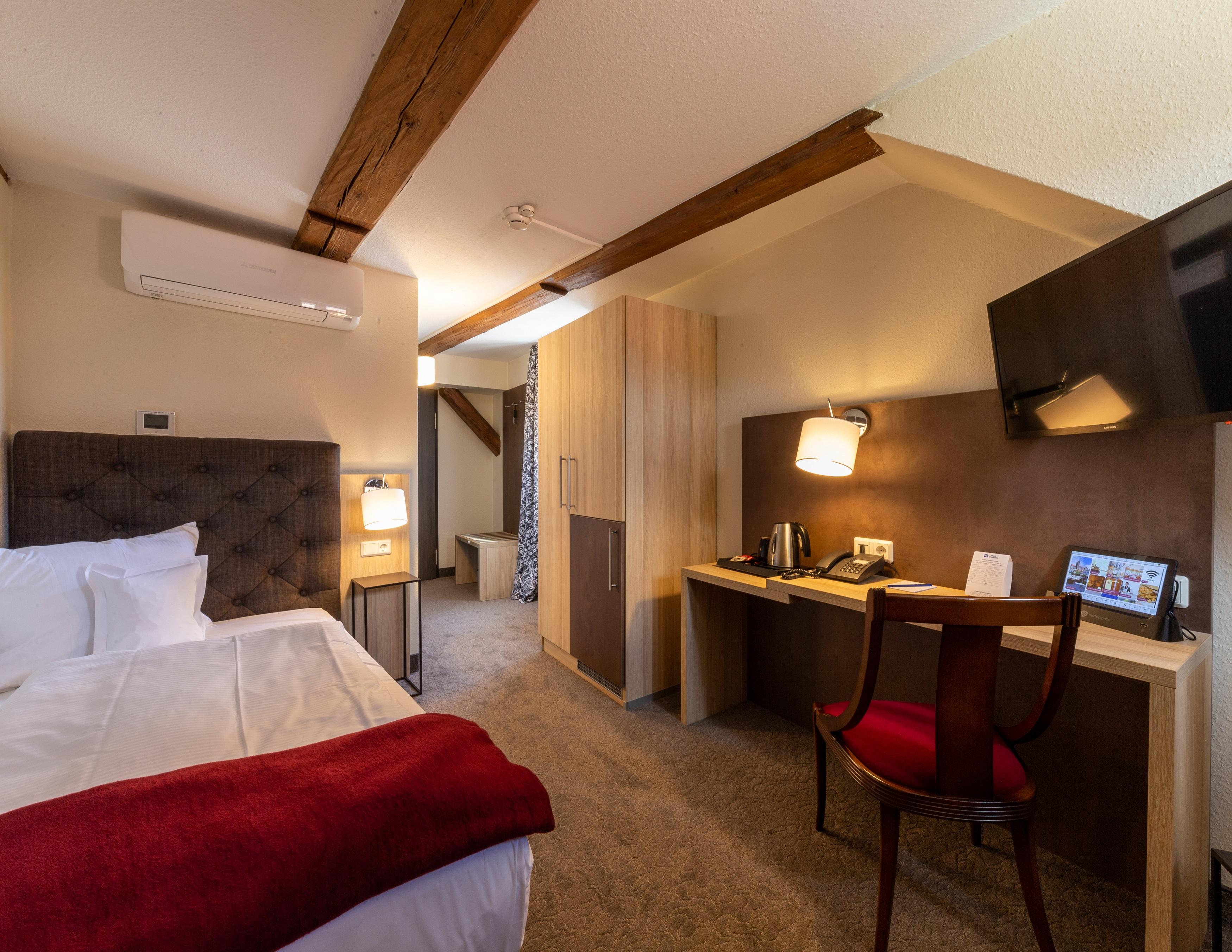 BEST WESTERN Hotel Schlossmühle in Quedlinburg - Einzelzimmer im Altbau