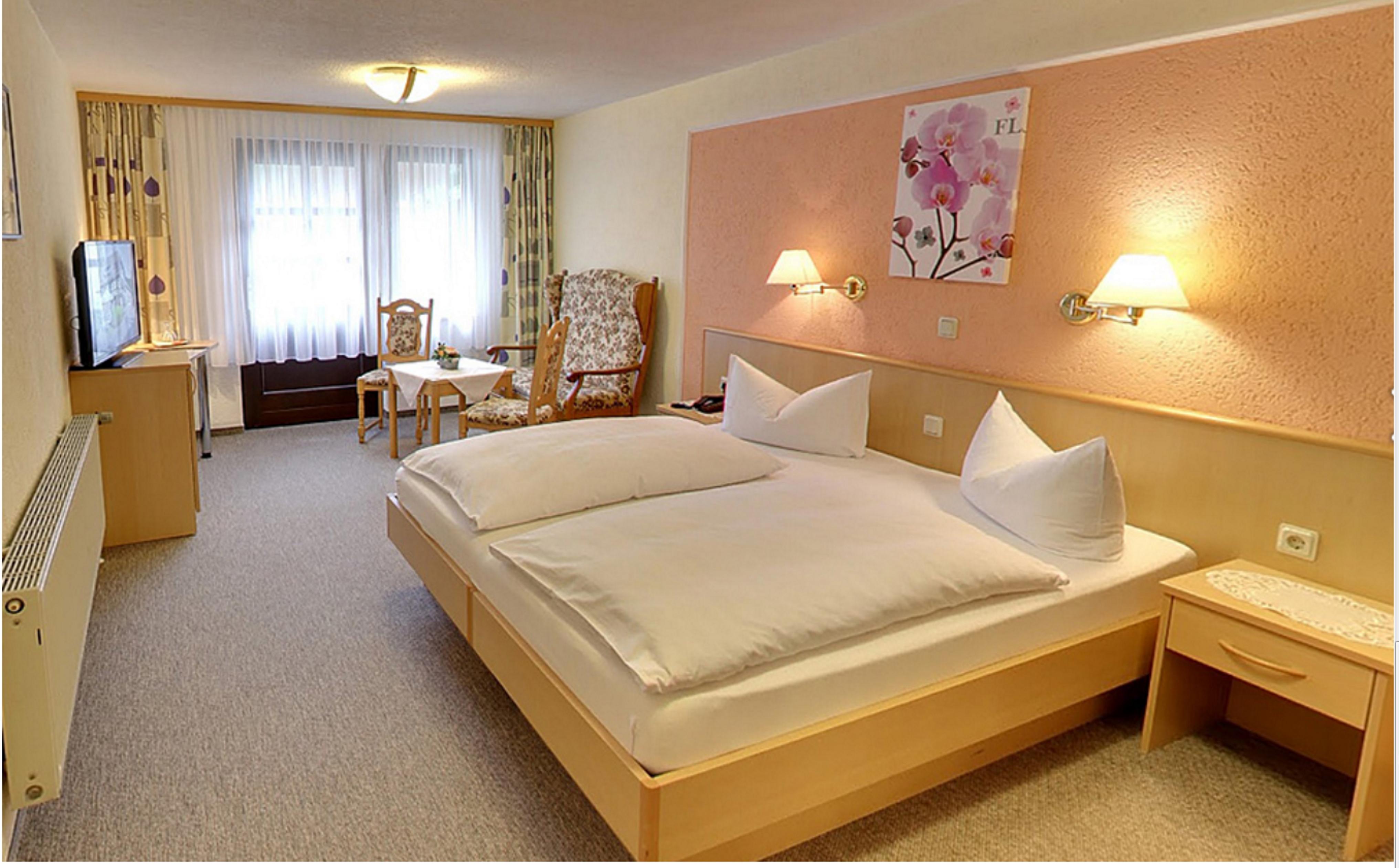 Hotel Zum Bürgergarten in Stolberg - Doppelzimmer