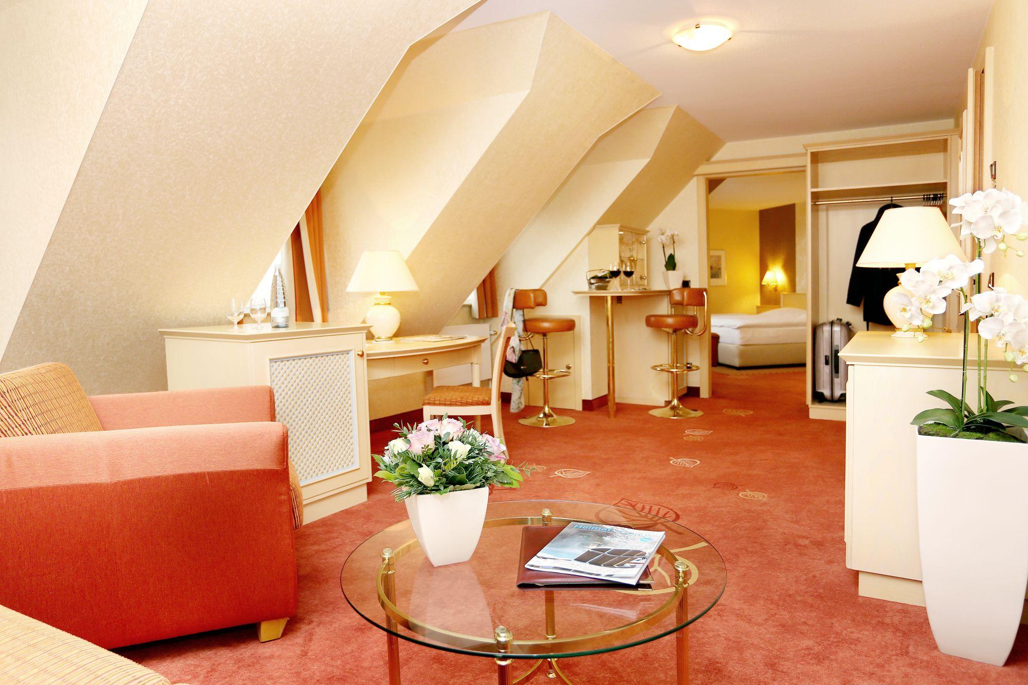 Hotel & Restaurant Weißer Hirsch in Wernigerode - Deluxezimmer