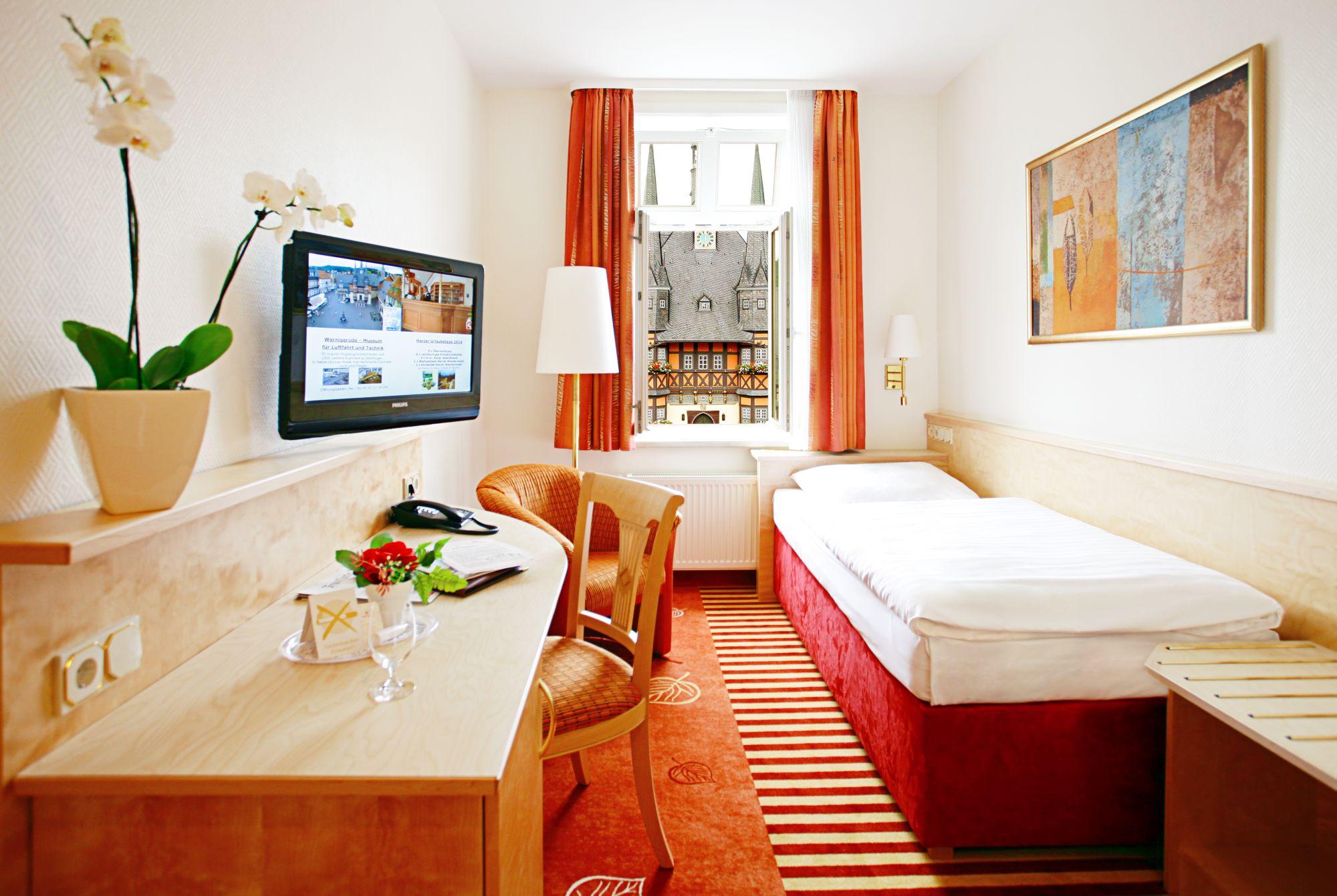 Hotel & Restaurant Weißer Hirsch in Wernigerode - Einzelzimmer