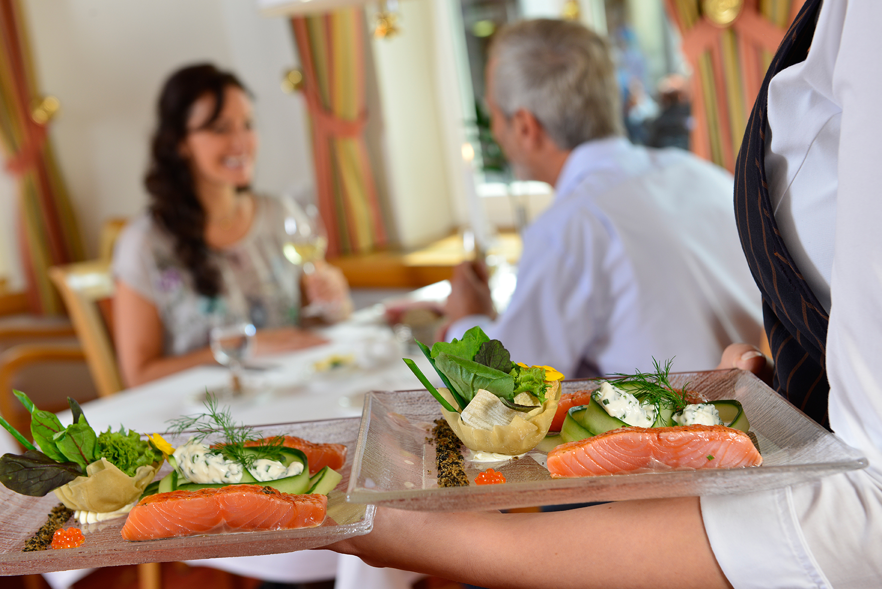 Hotel & Restaurant Weißer Hirsch in Wernigerode - Restaurant