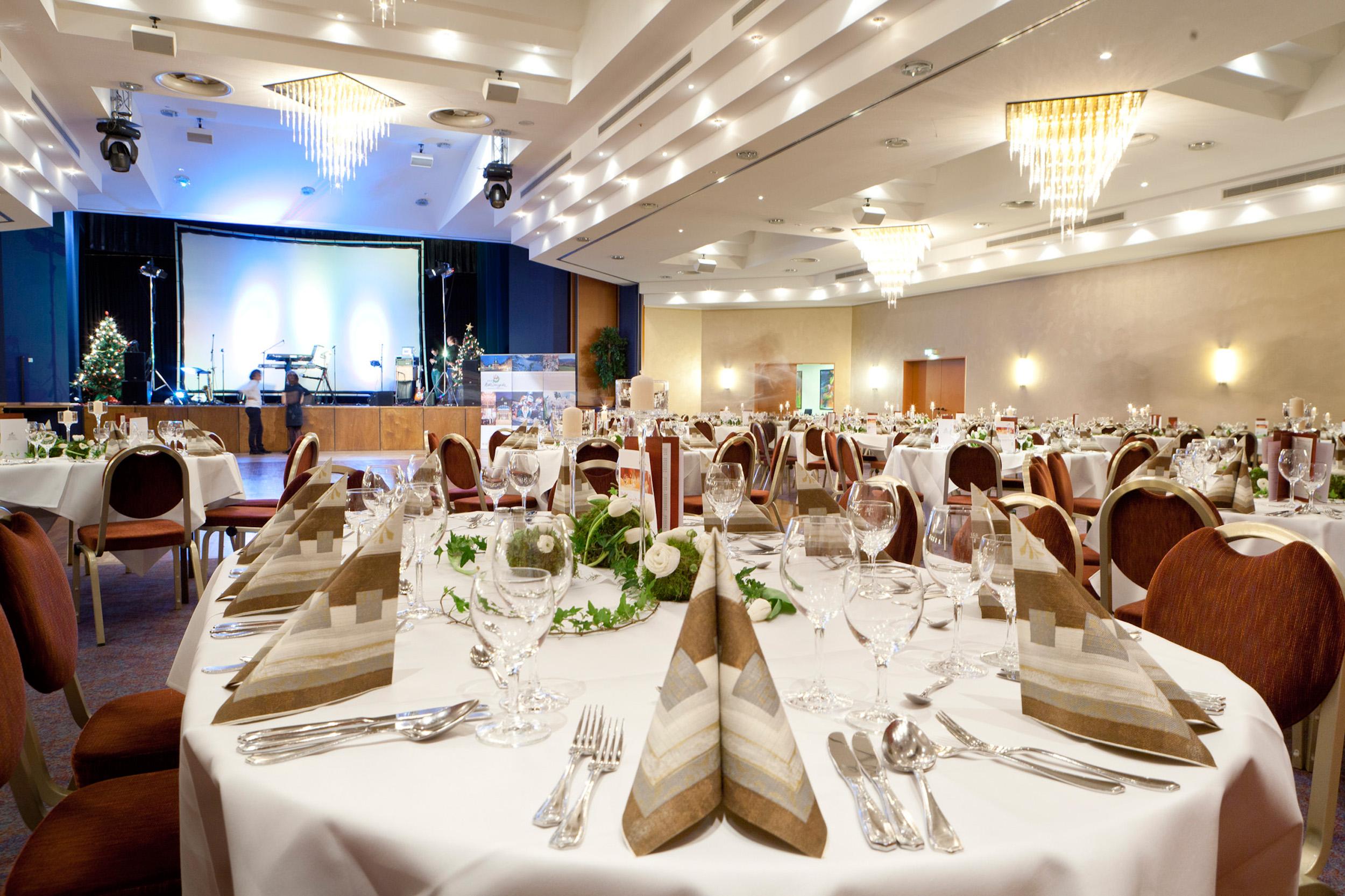 HKK Hotel Wernigerode - Bankettsaal bestuhlt