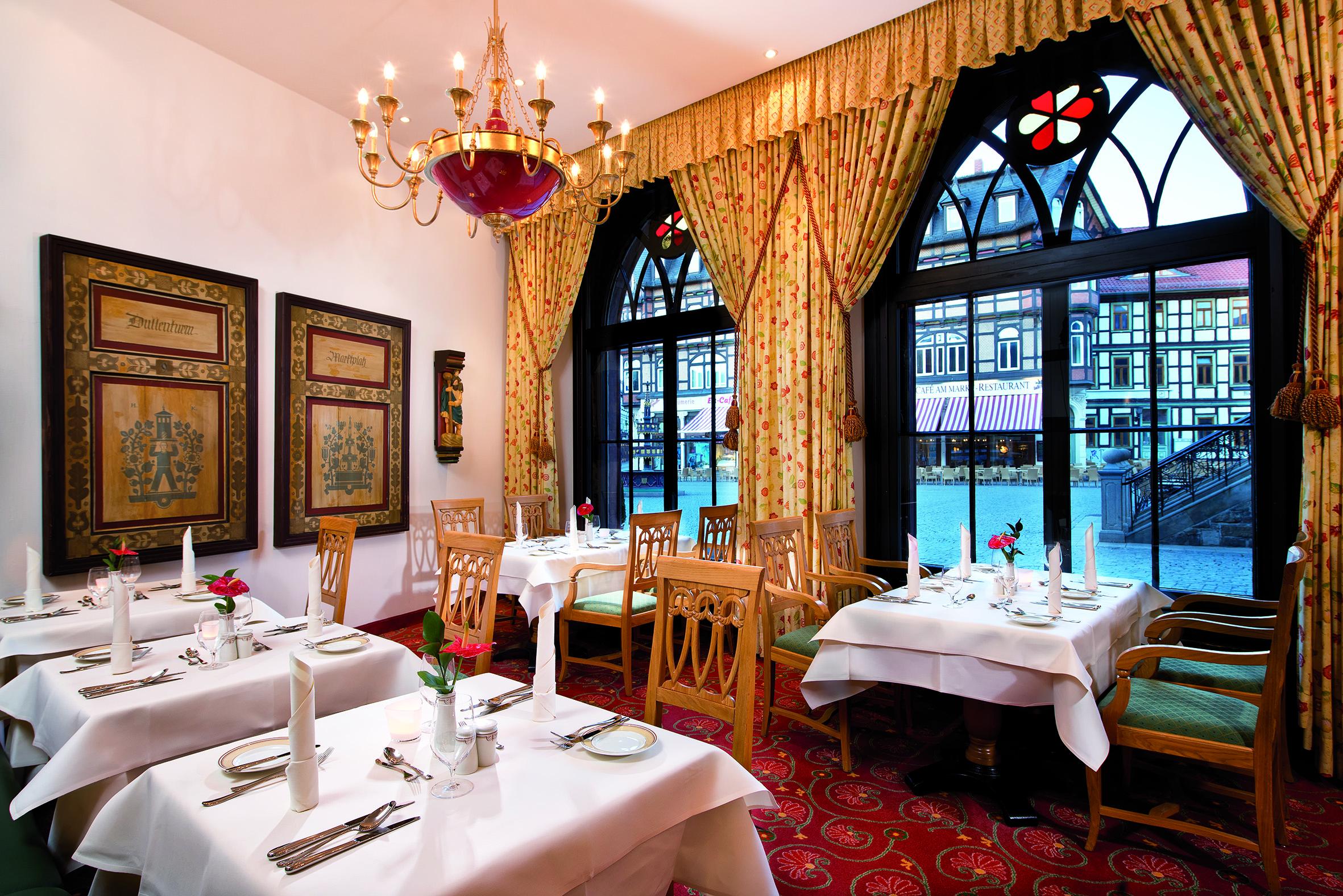 Travel Charme Gothisches Haus Wernigerode - Restaurant