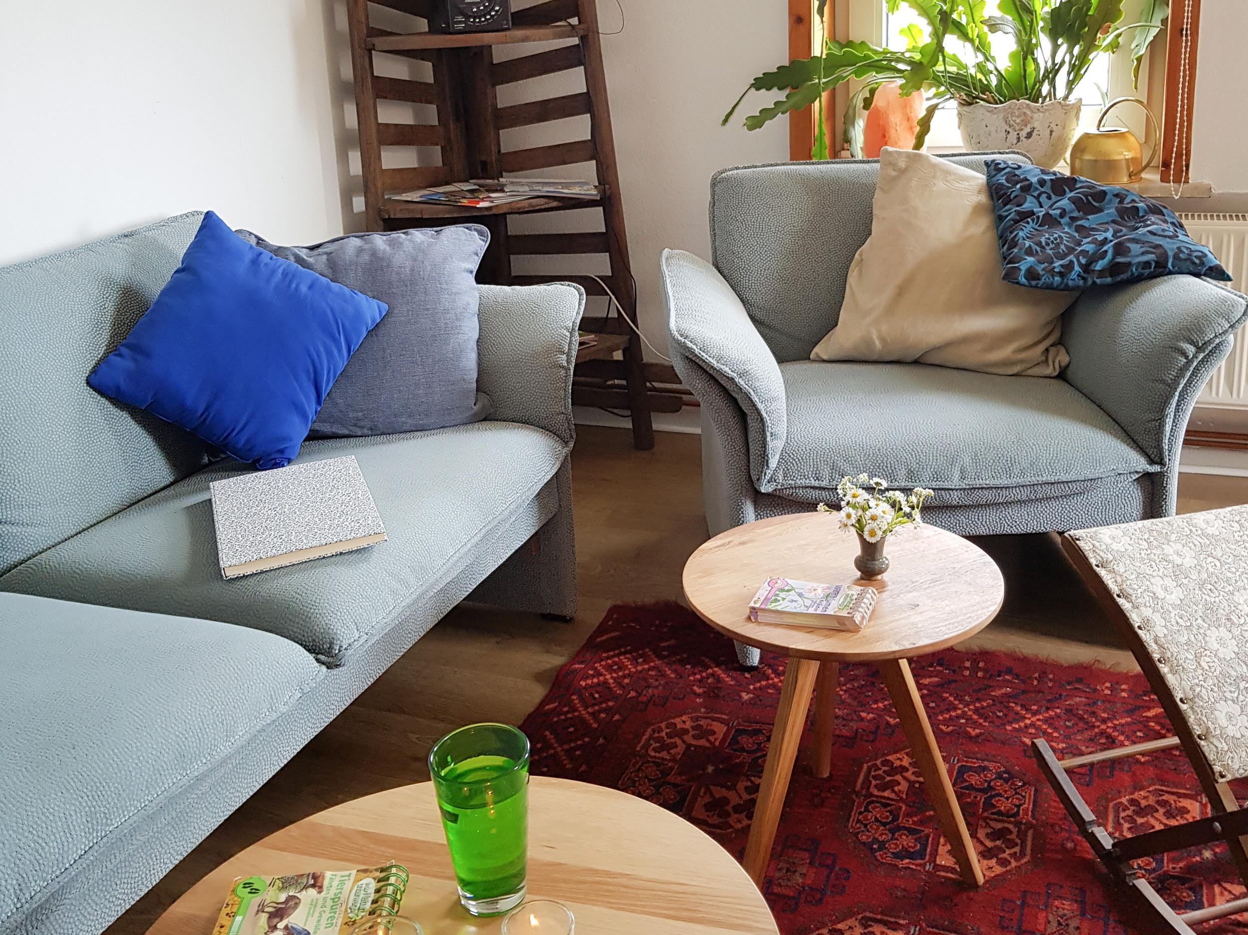 Ferienwohnung Schlüsselblume in Hohegeiß - Wohnzimmer