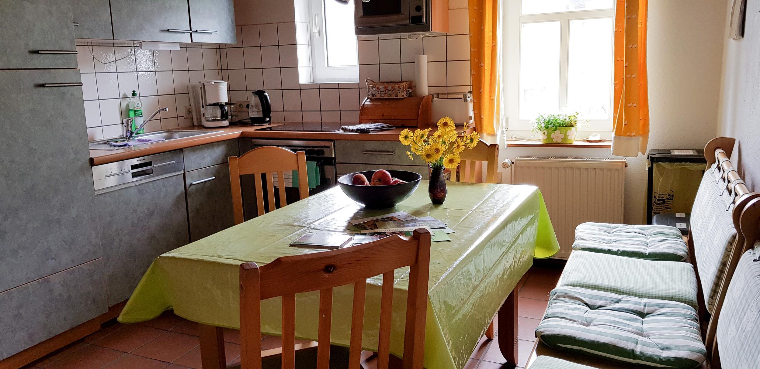 Ferienwohnung Trollblume in Hohegeiß - Küche