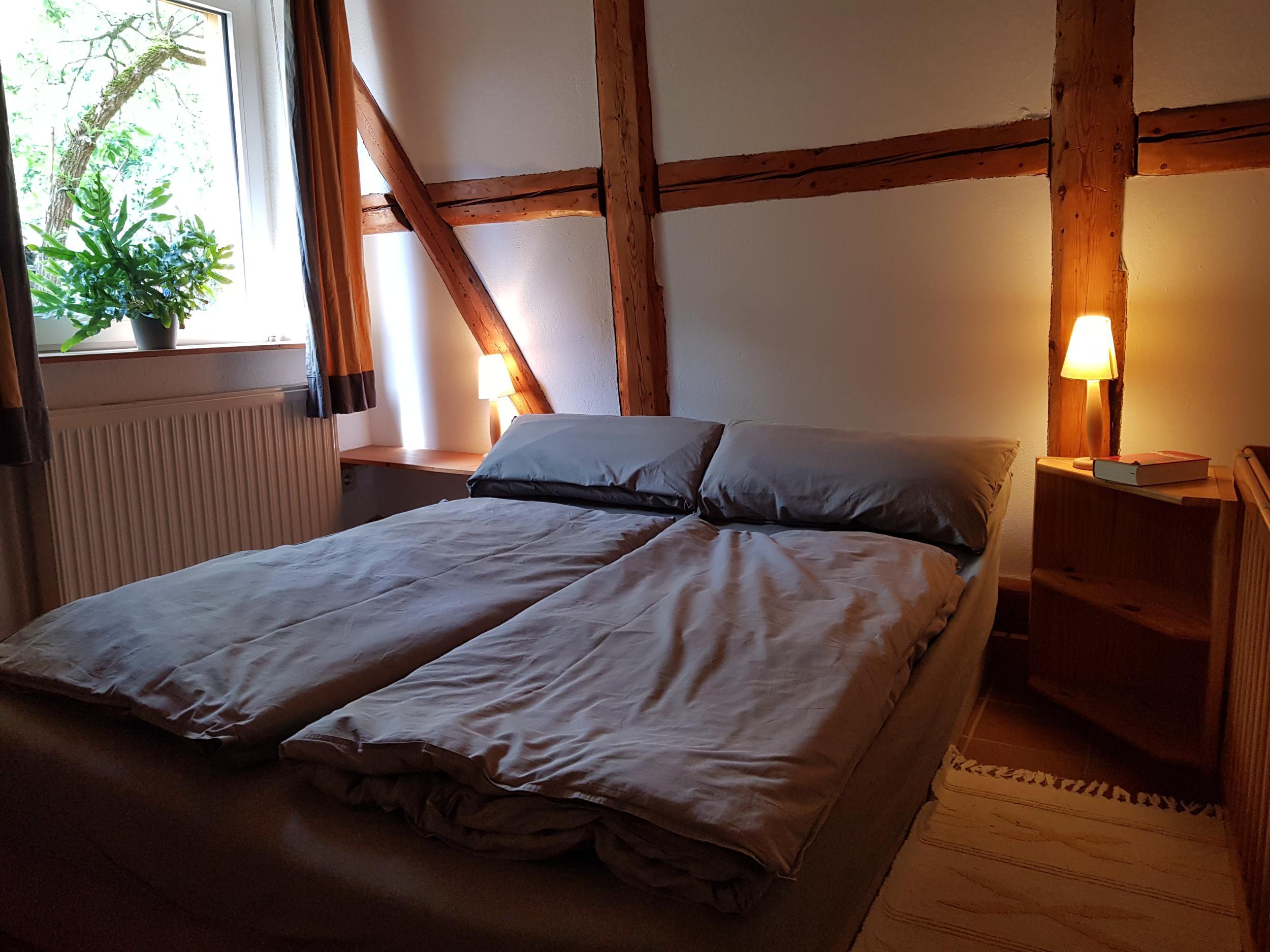 Ferienwohnung Trollblume in Hohegeiß - Schlafzimmer