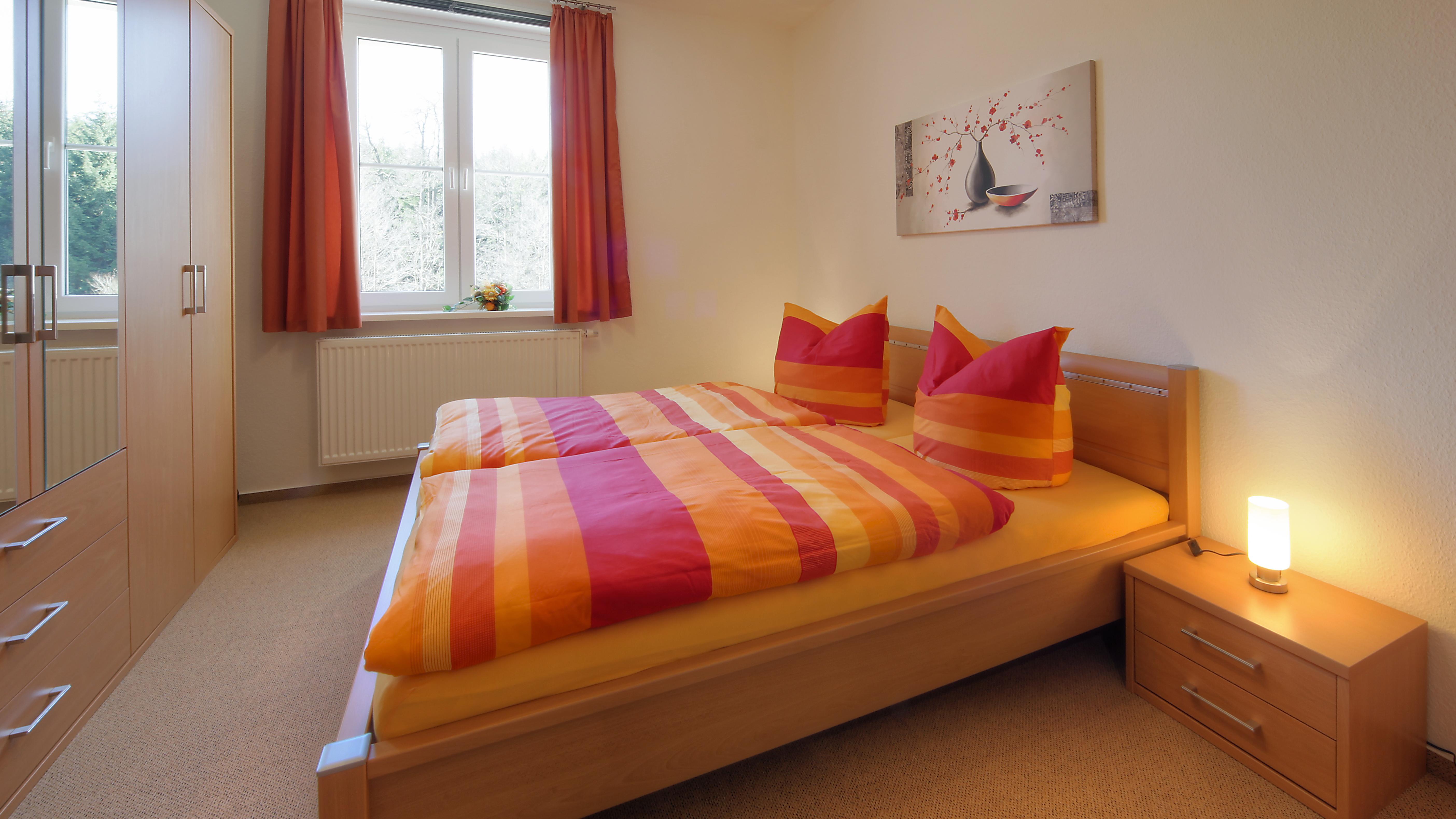 Ferienwohnungen an der Bode in Schierke - FW Große Bode - Schlafzimmer