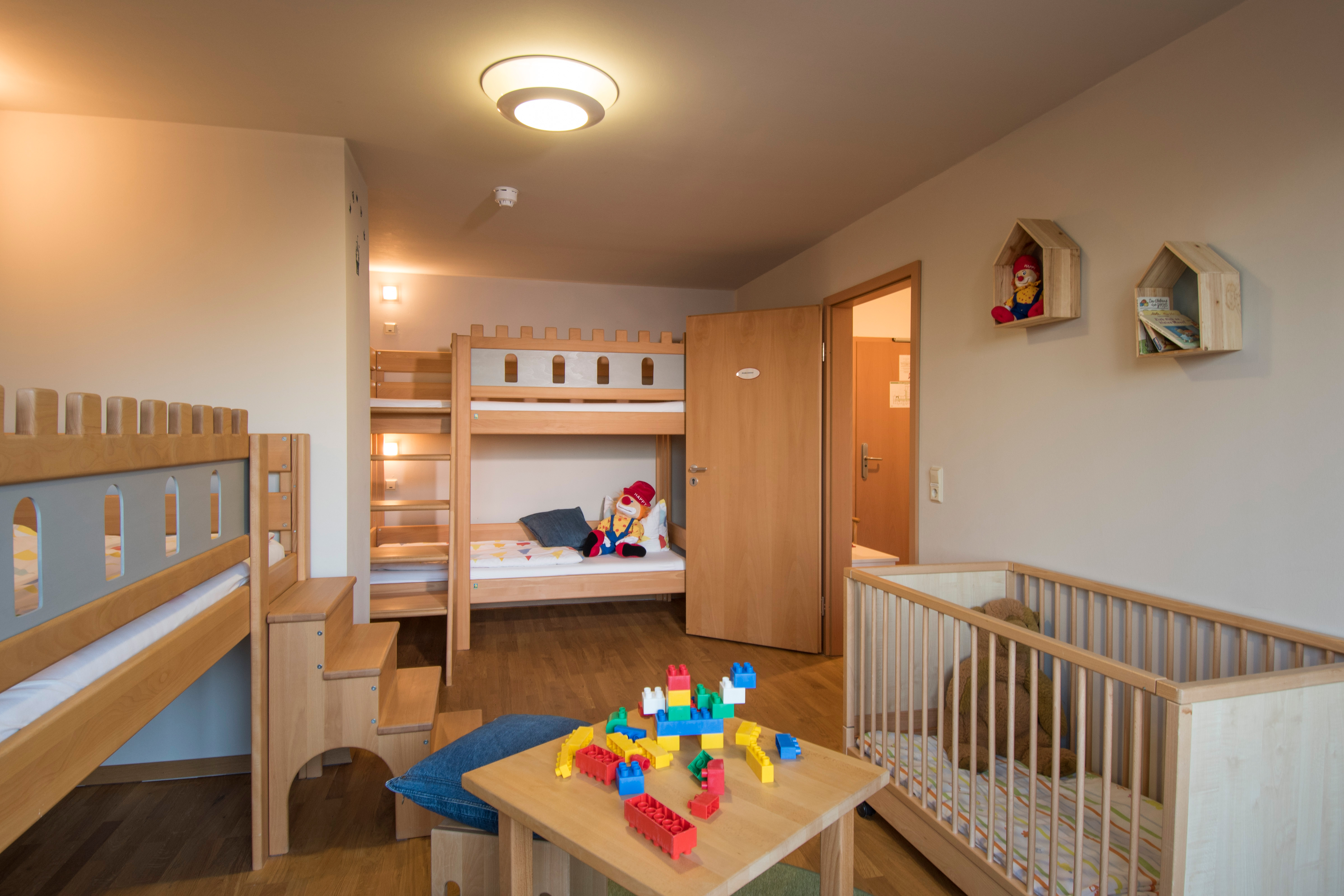 Familotel Family Club Harz in Quedlinburg - Kinderzimmer