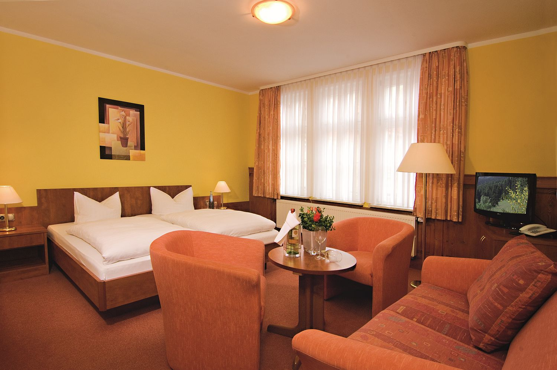 Hotel Zum Kanzler in Stolberg - Doppelzimmer