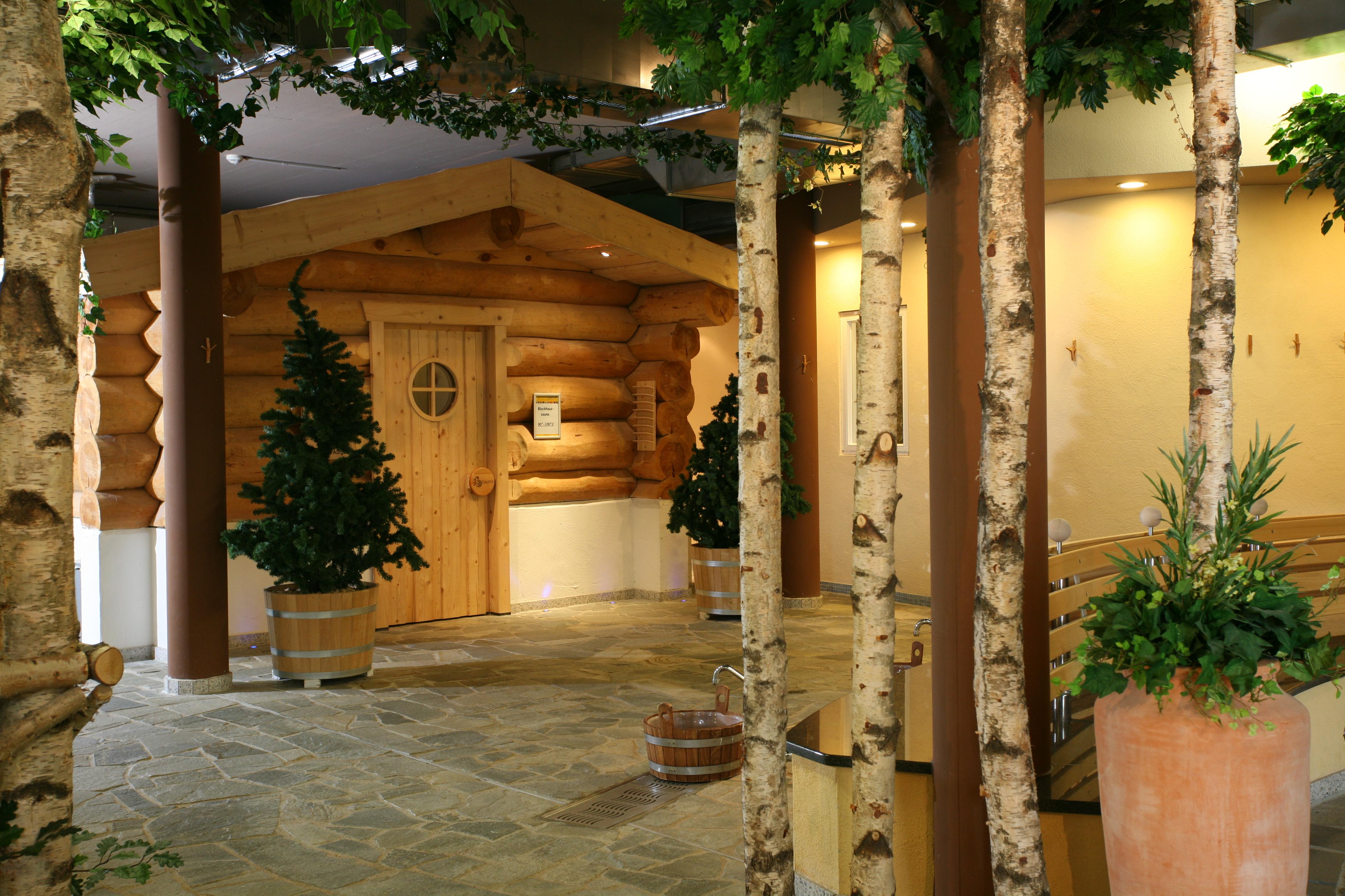 Hasseröder Ferienpark in Wernigerode - Sauna Hexenkessel