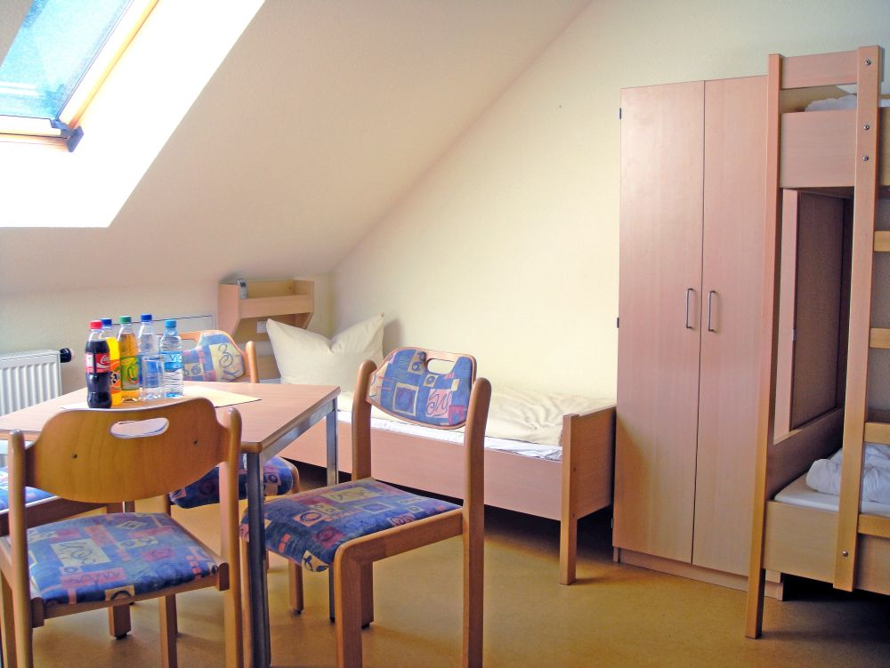 Jugendherberge Kelbra - Zimmer