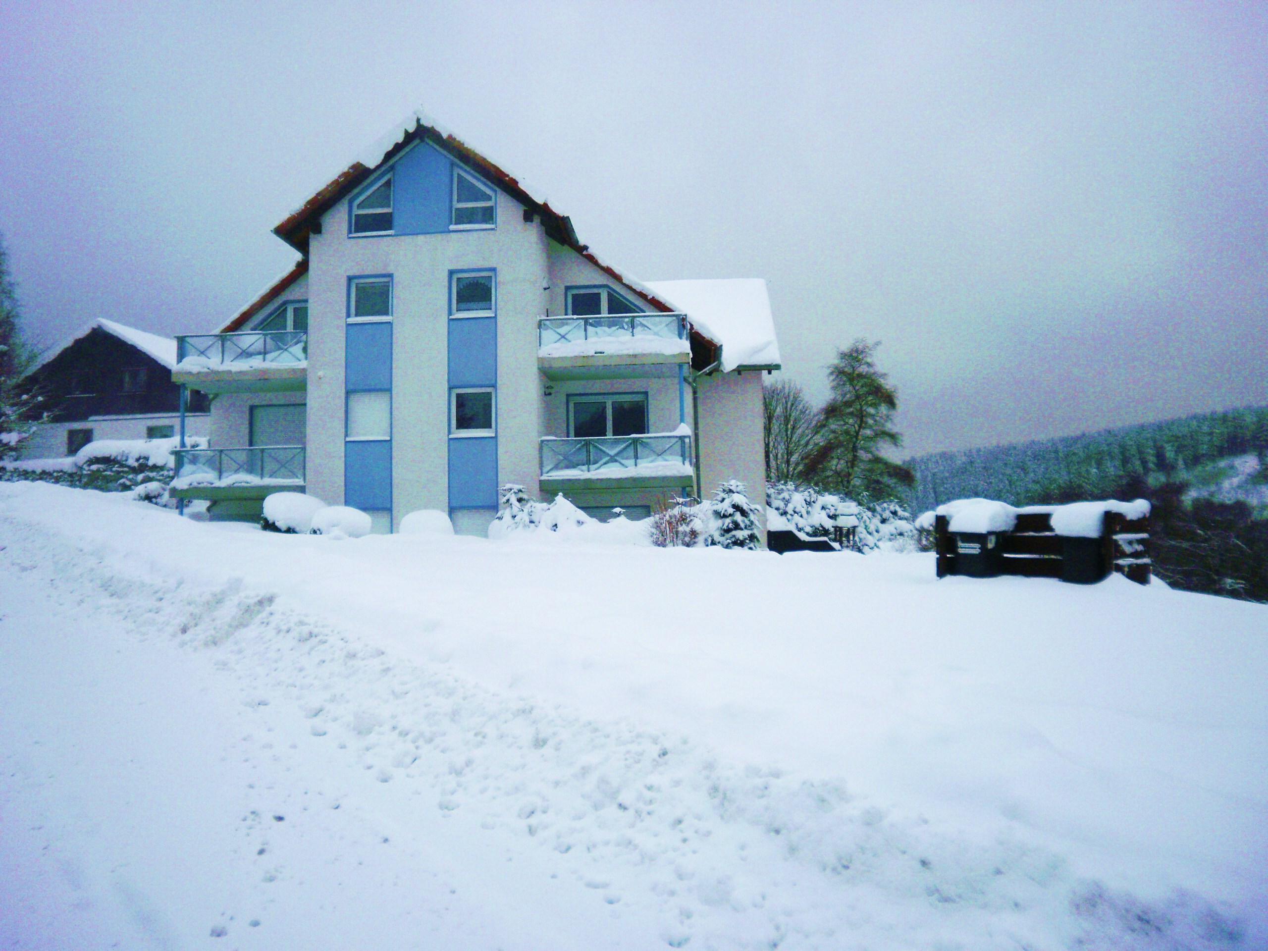 Haus Dreitälerblick in Altenau im Winter