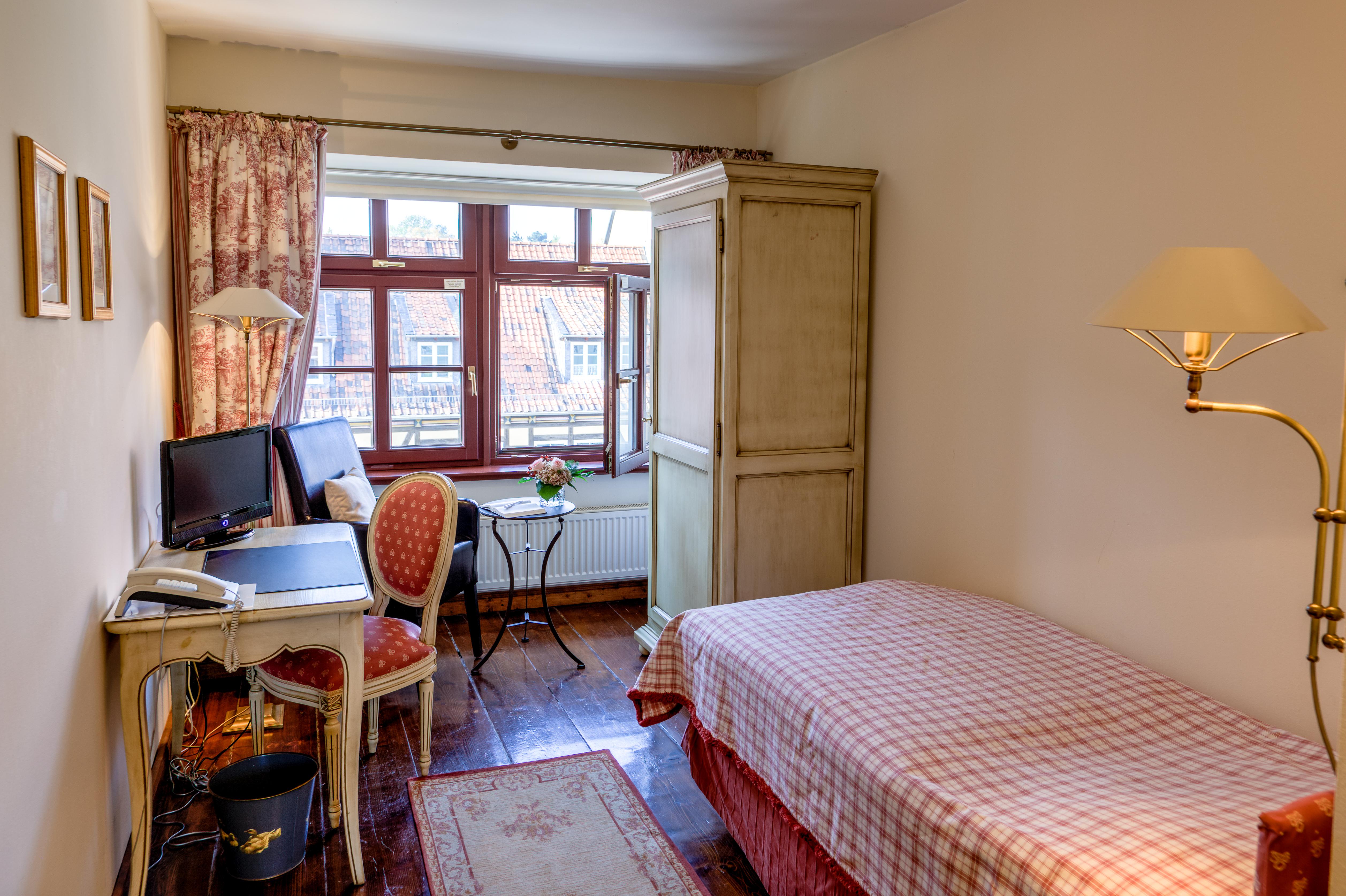 Hotel zum Bär in Quedlinburg - Einzelzimmer