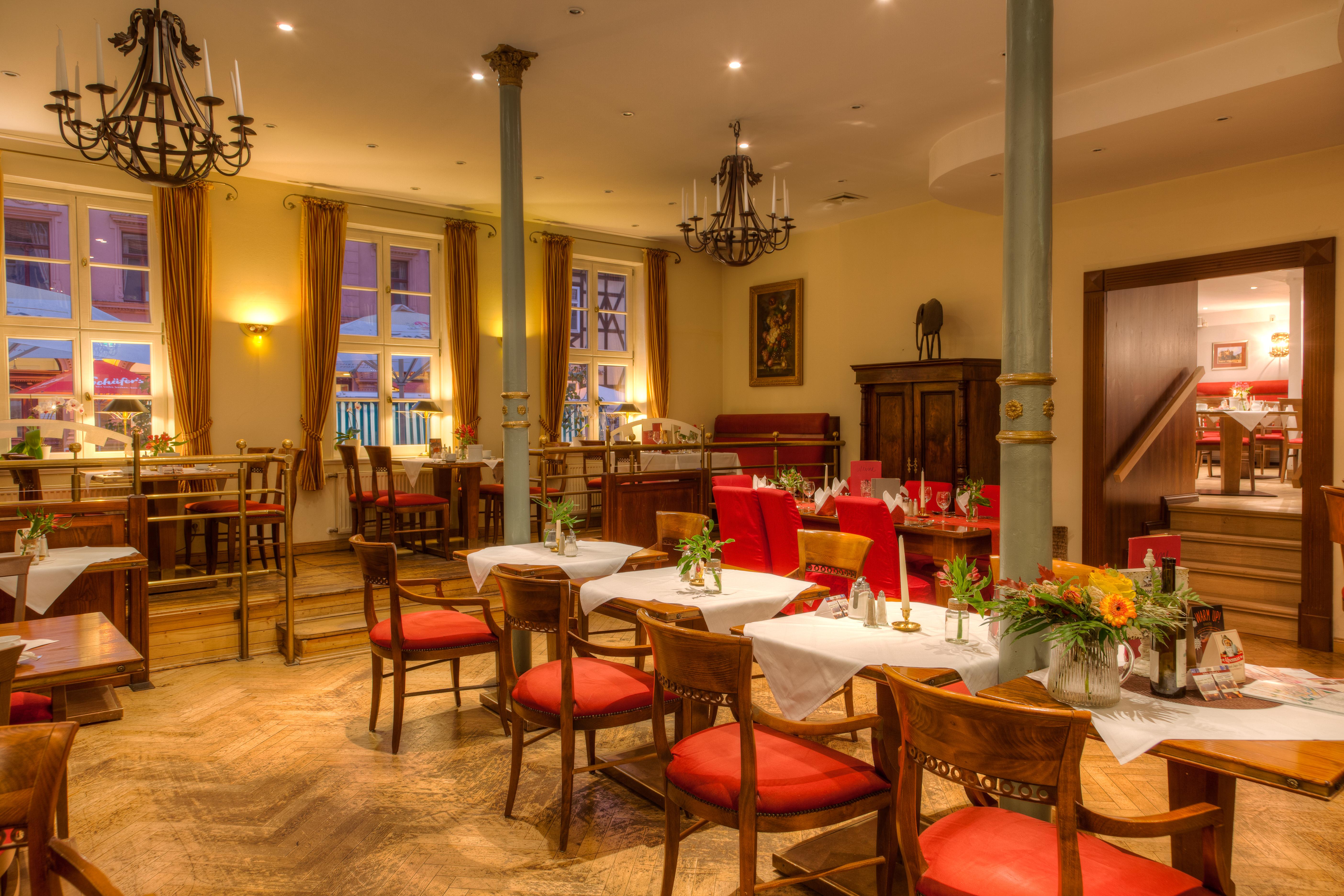 Hotel zum Bär in Quedlinburg - Restaurant