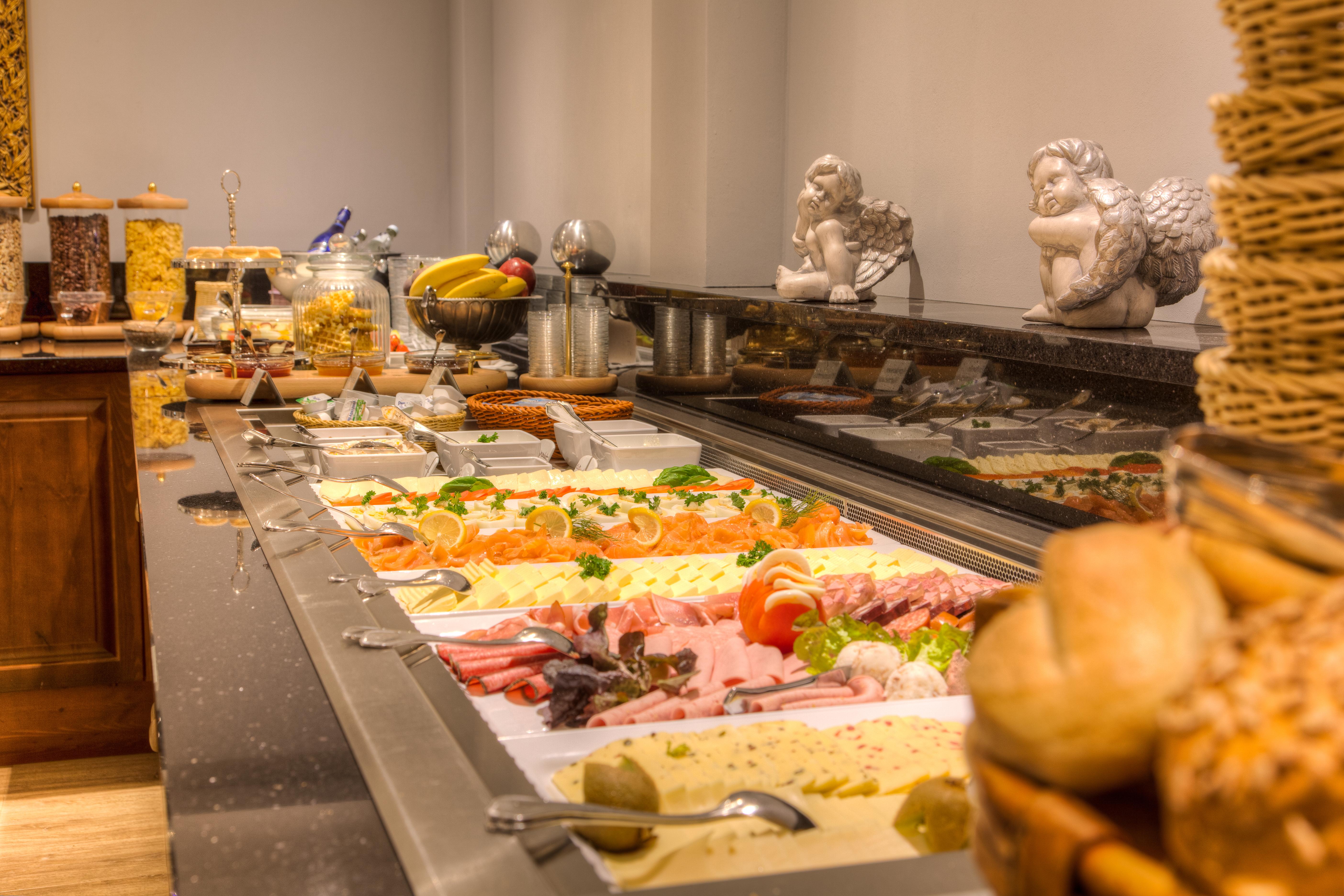 Hotel zum Bär in Quedlinburg - Frühstücksbuffet