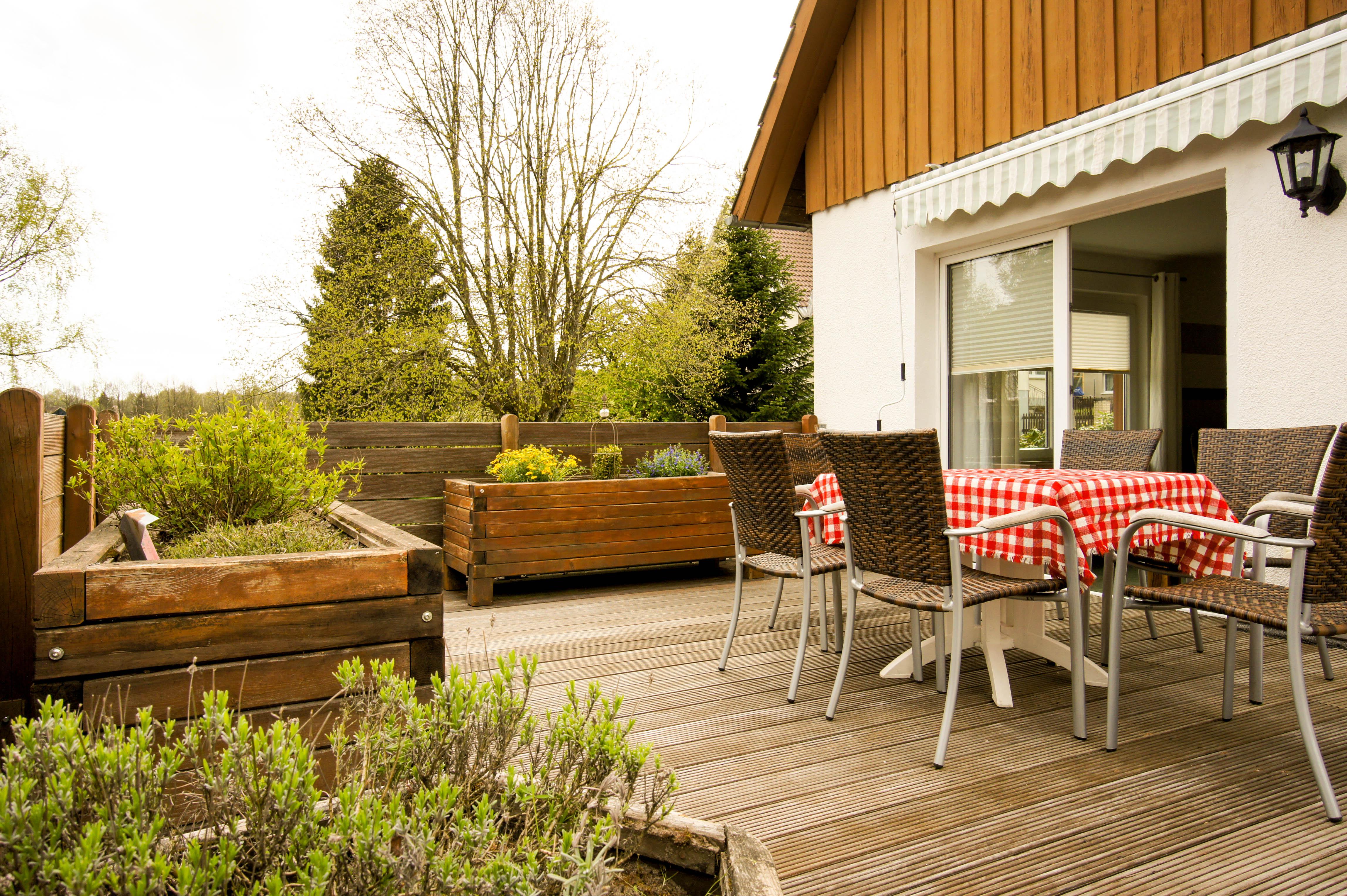 Ferienhaus Blocksberg in Braunlage - Terrasse