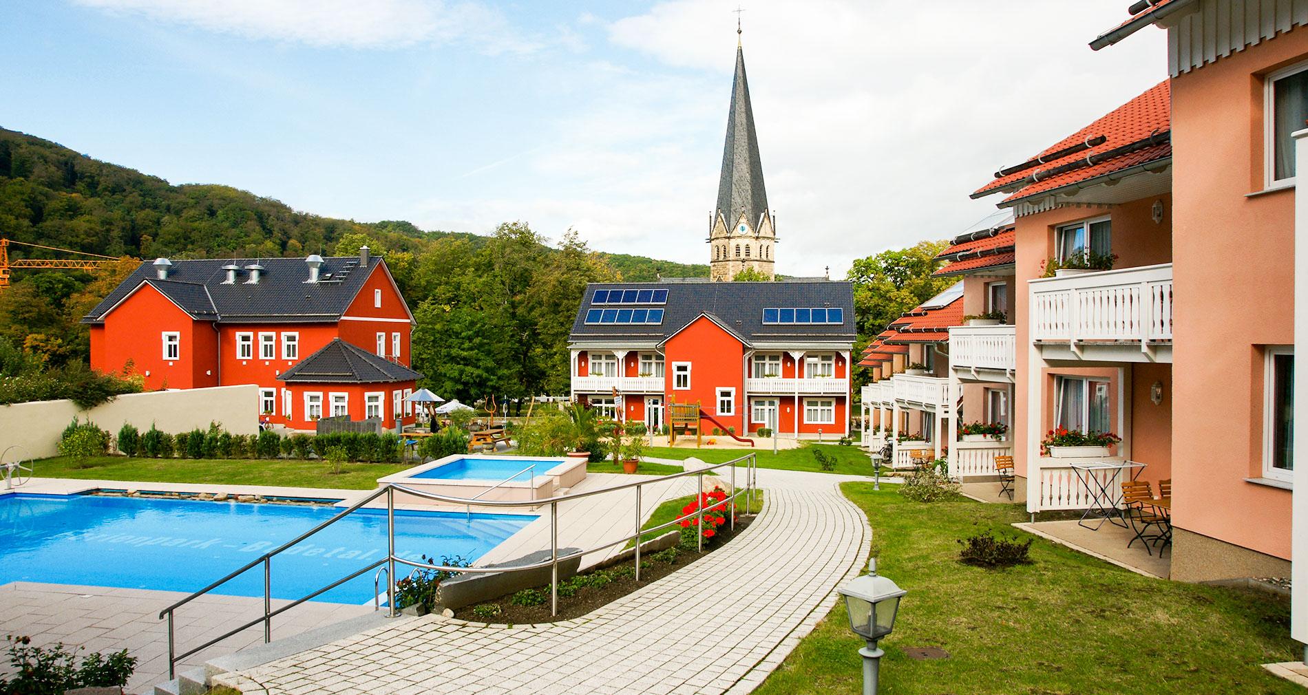 Hotelpark Bodetal in Thale - Außenpool