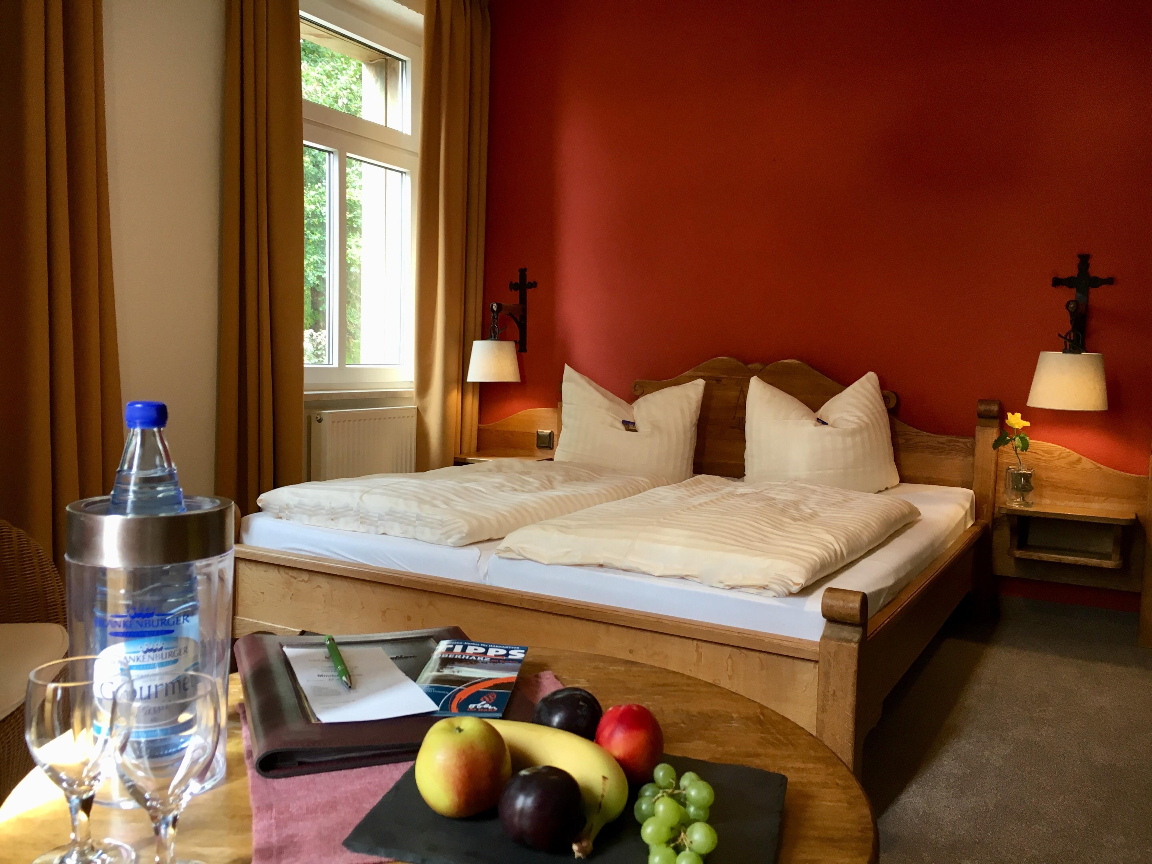 waldhotel AUSZEIT in Tanne - Schlafzimmer