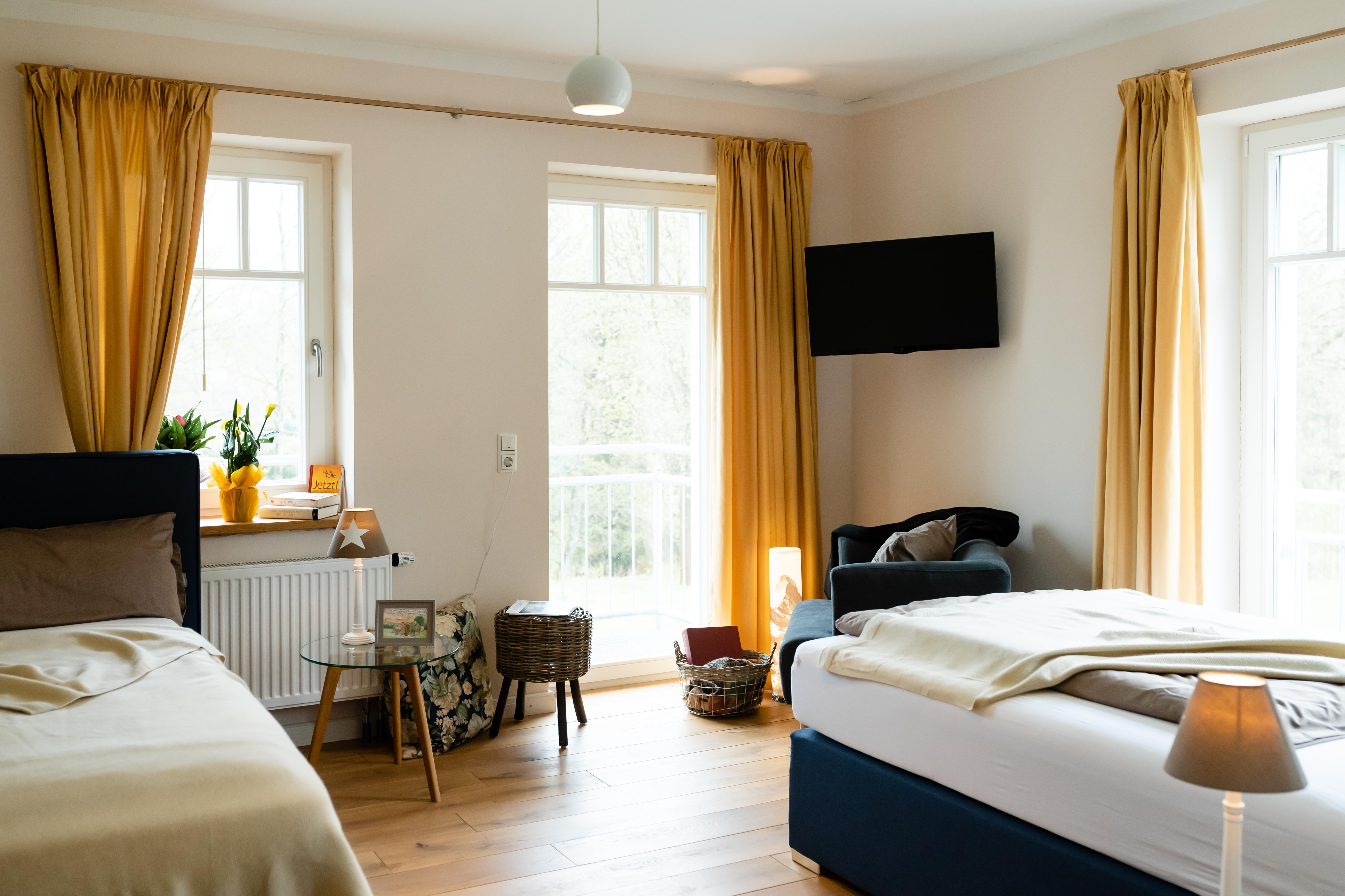 Am Hexenstieg - Land- und Seminarhaus in Buntenbock - Zweibettzimmer