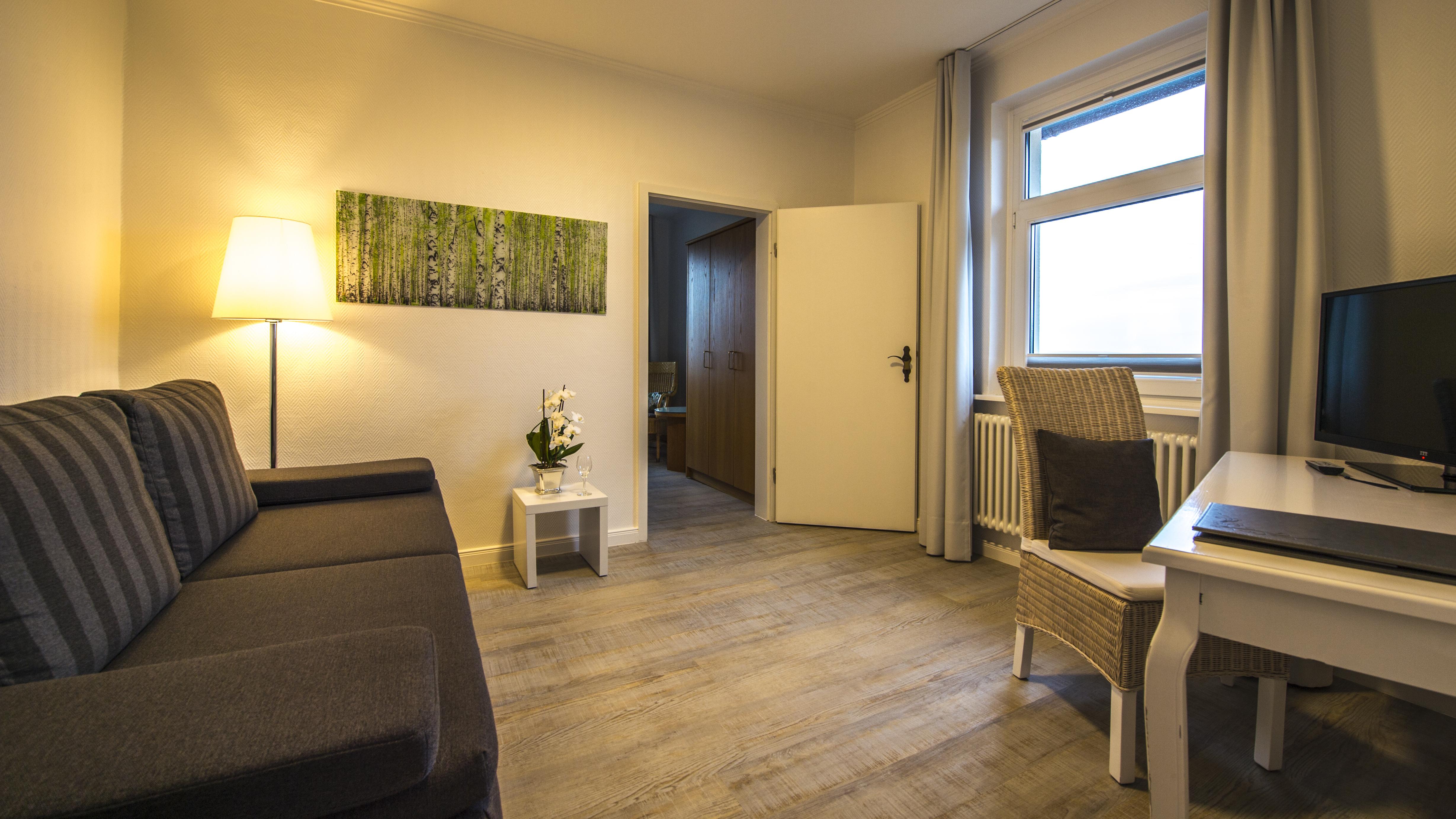 Hotel Görtler in Seesen - Wohnbereich