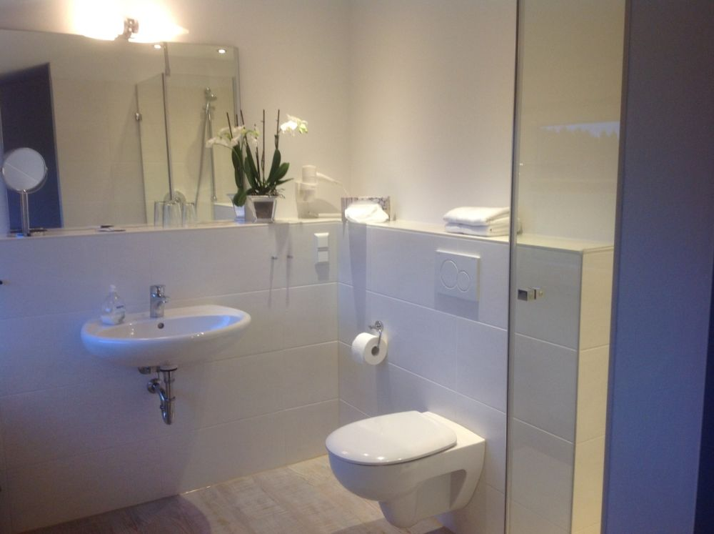 Hotel Görtler in Seesen - Badezimmer