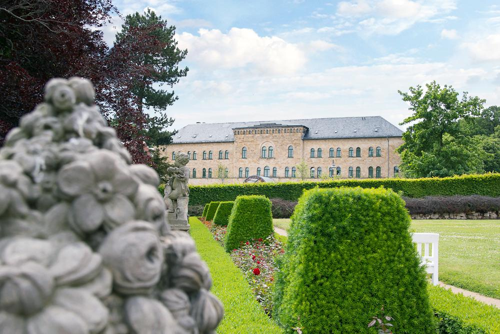 Schlosshotel Blankenburg- Außenansicht