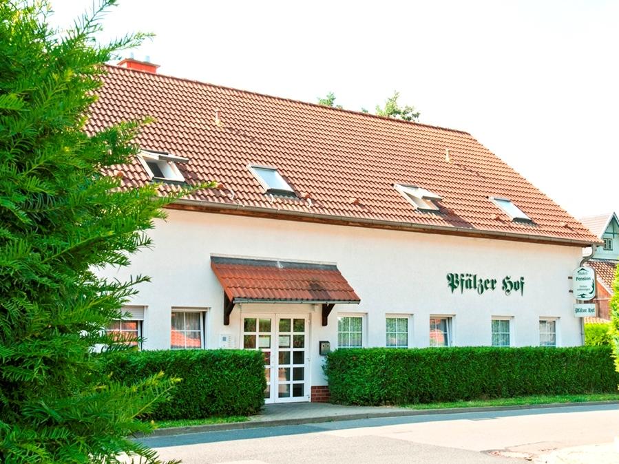 Regiohotel Pfälzer Hof in Wernigerode - Außenansicht
