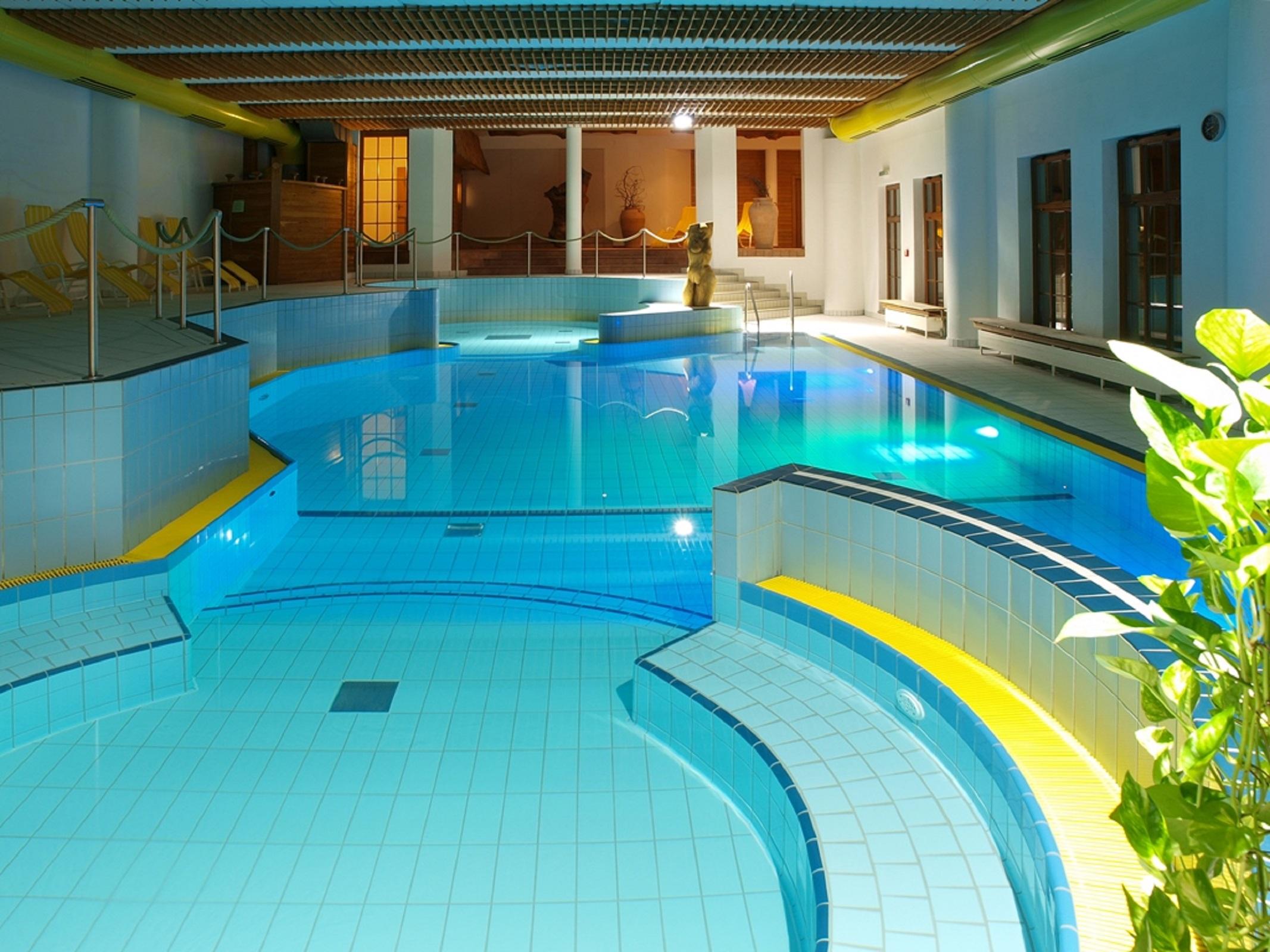 Reit- und Sporthotel Nordmann in Stangerode - Wellnessbereich
