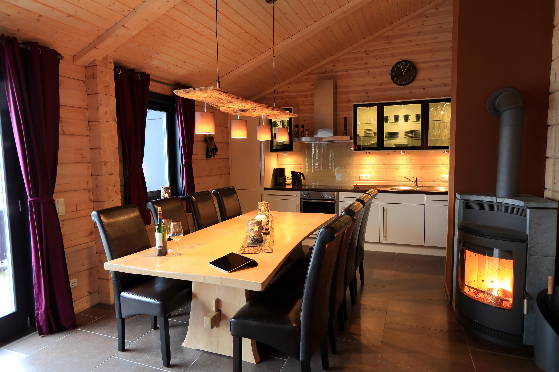5 Sterne Blockhäuser in Hahnenklee - Küchenansicht