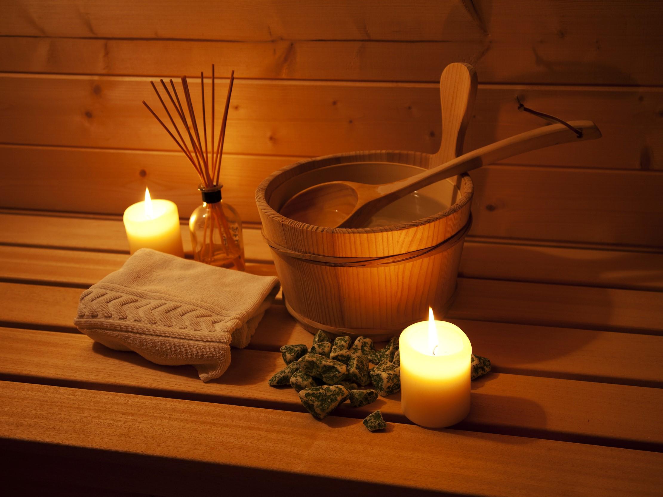 5 Sterne Blockhäuser in Hahnenklee - Sauna