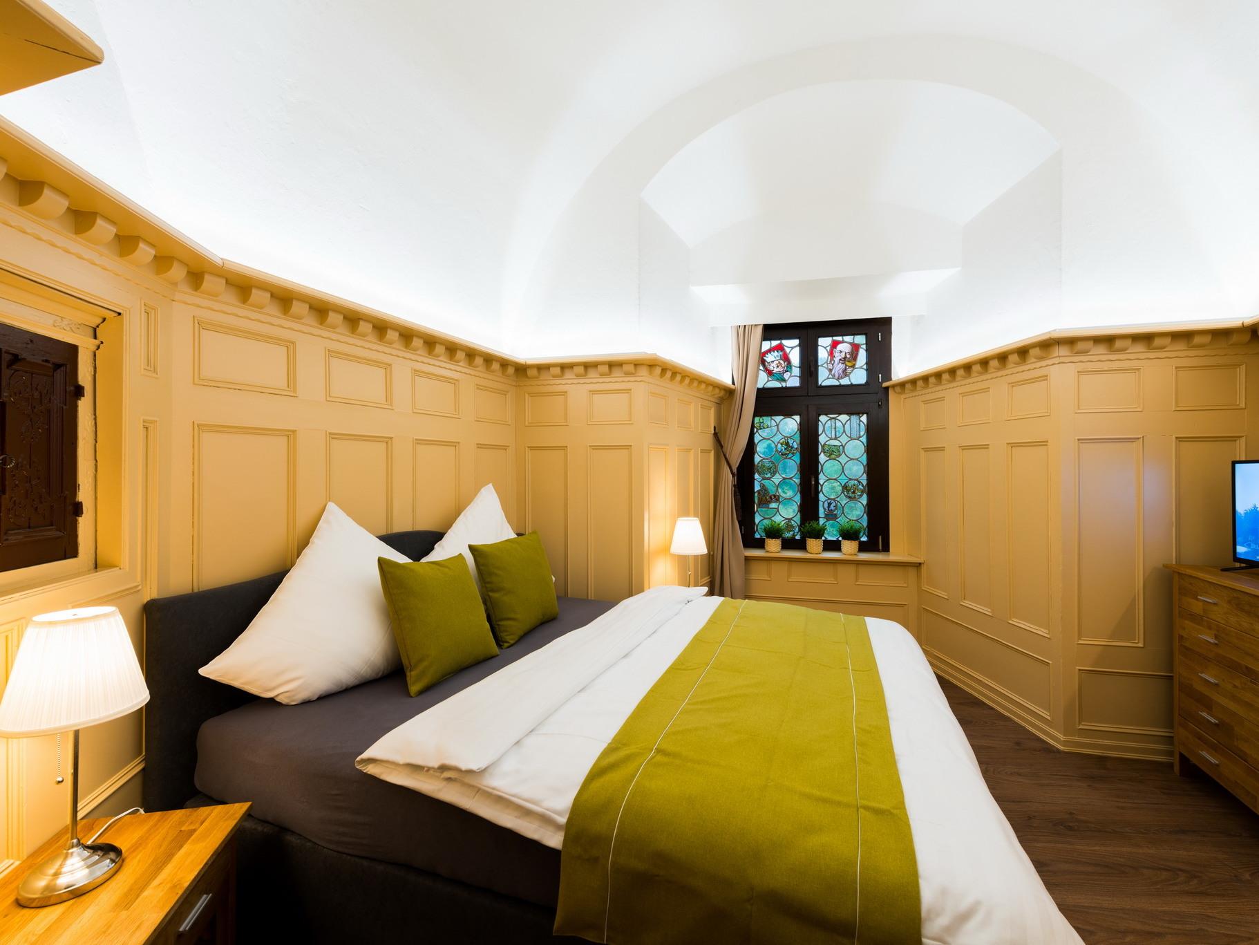 Goslarer Zwinger - Ferienwohnung Burgkaiser - Schlafzimmer