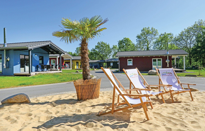 NOVASOL - Ferienhausdorf Thale - Außenbereich mit Beach