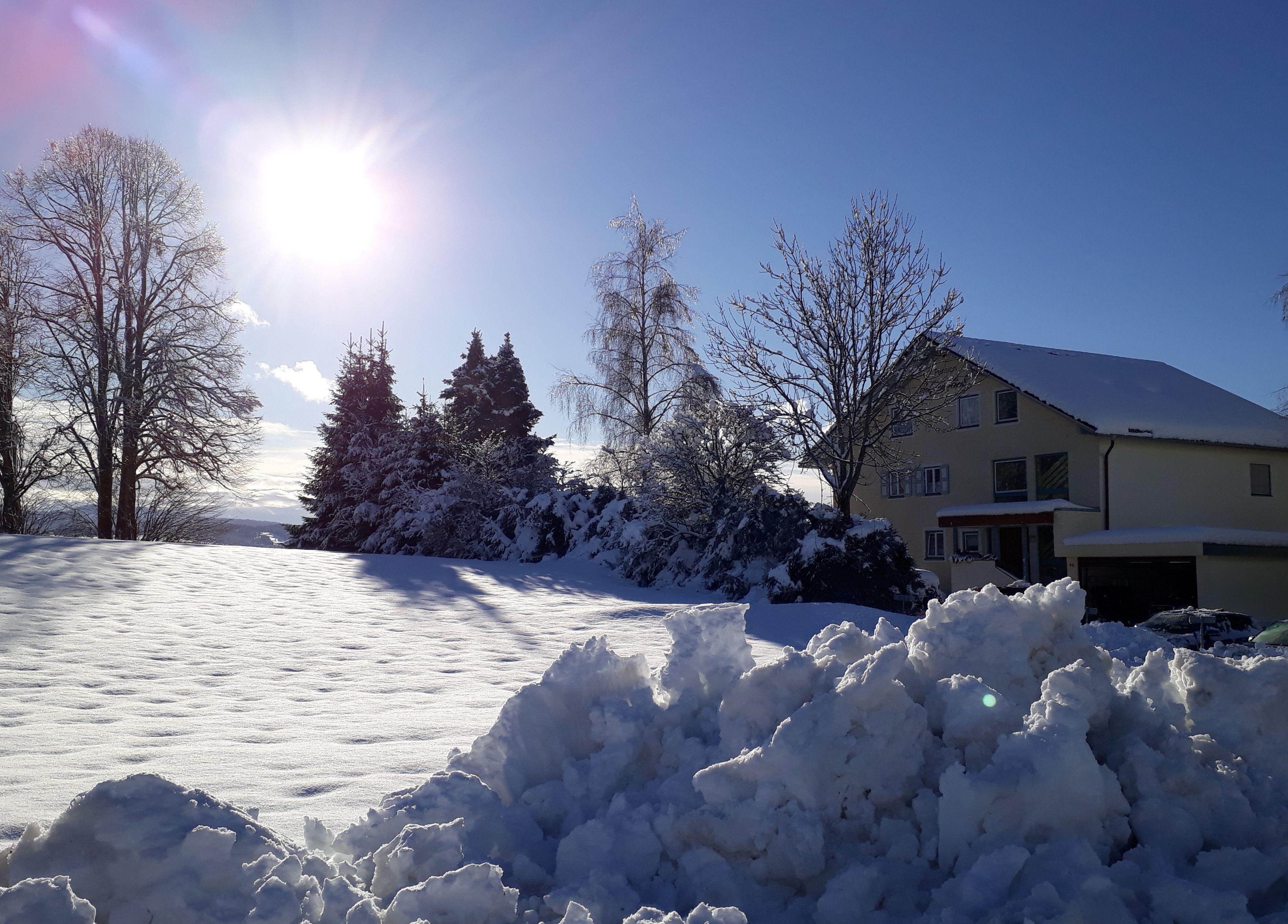 Winter im Alpenblick