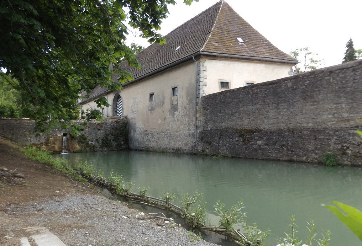 Teich am Schloss Himmighausen