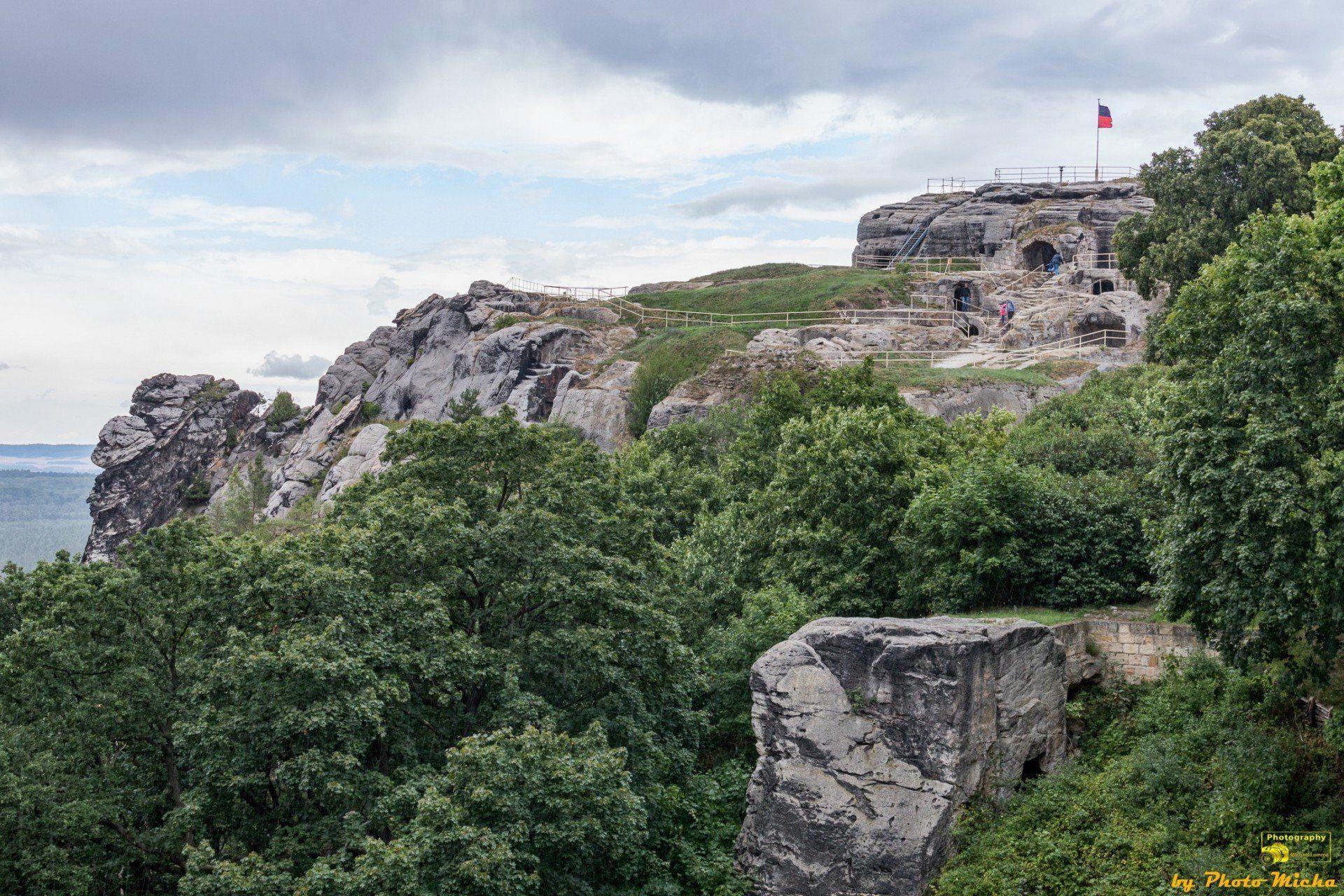 Burg und Festung Regenstein in Blankenburg