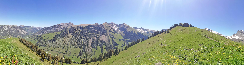 Aussicht vom Stockhorn