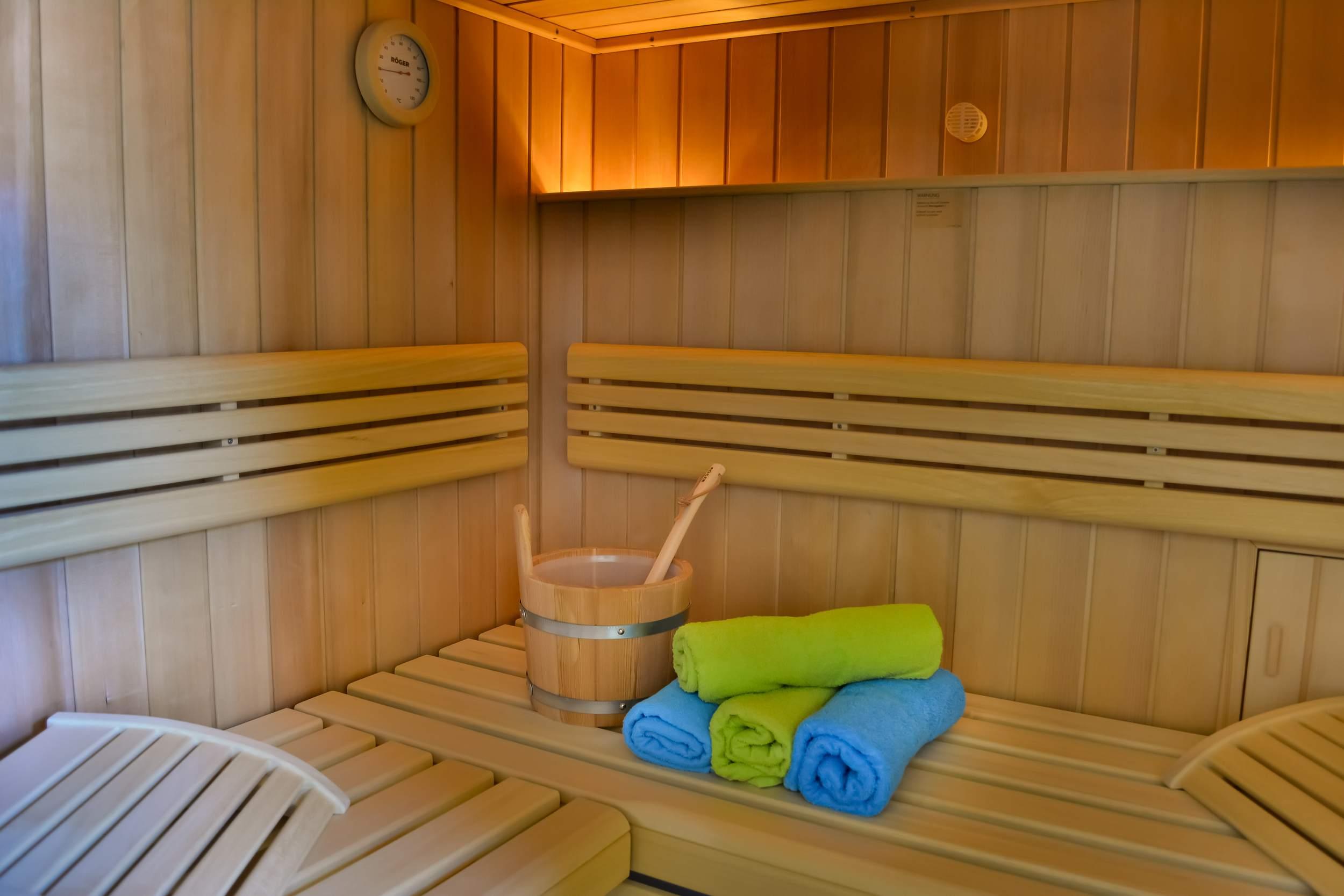 Schierker Feuerstein Stammhaus - Sauna
