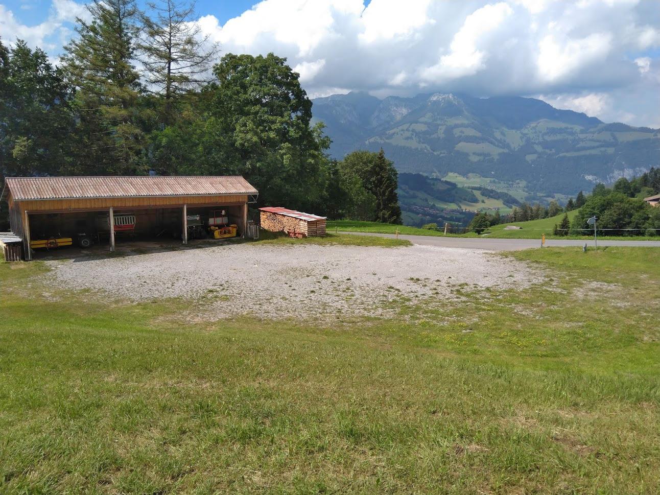 Parkplatz Berghof Halten