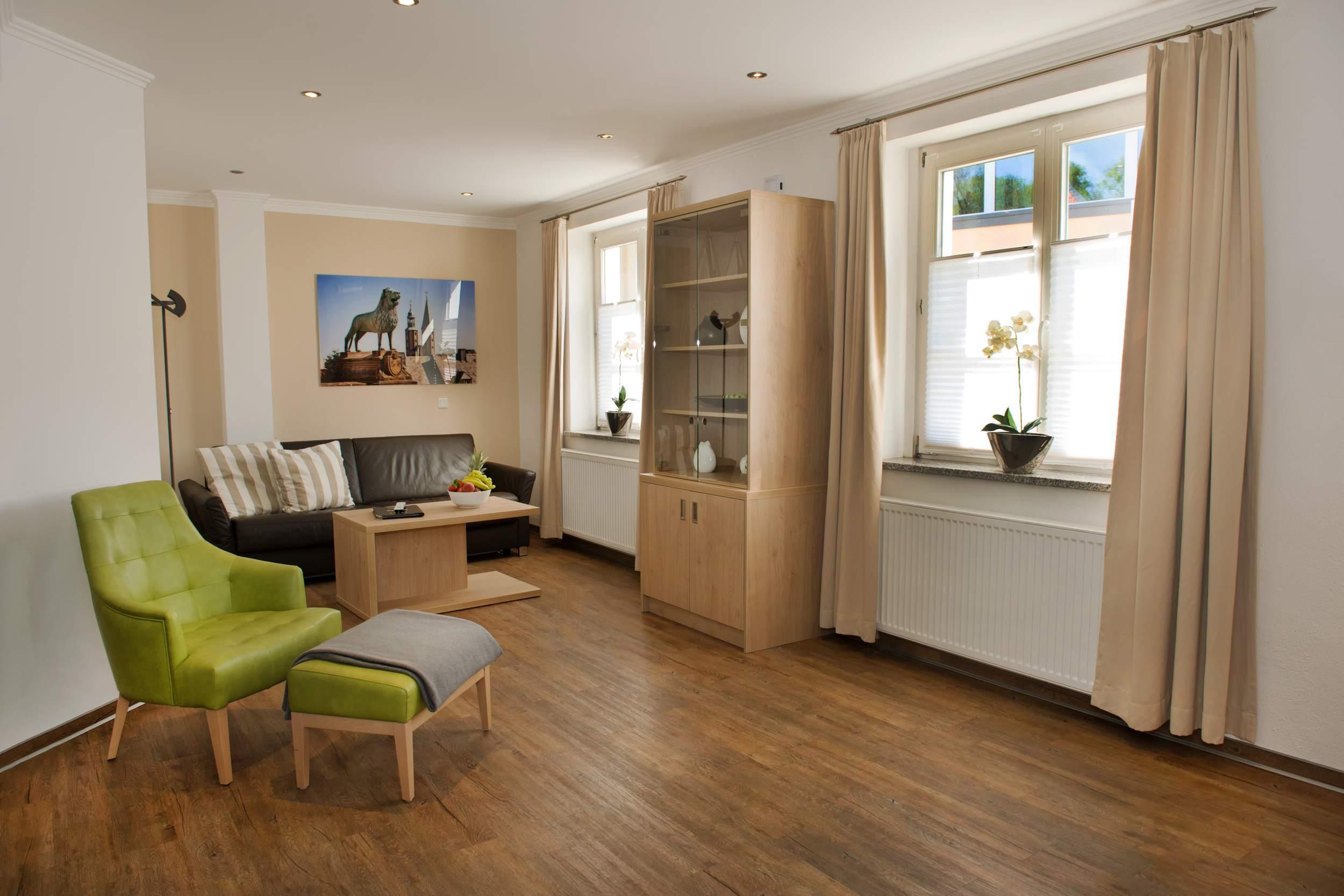 City Appartements am Wall Goslar - Wohnzimmer