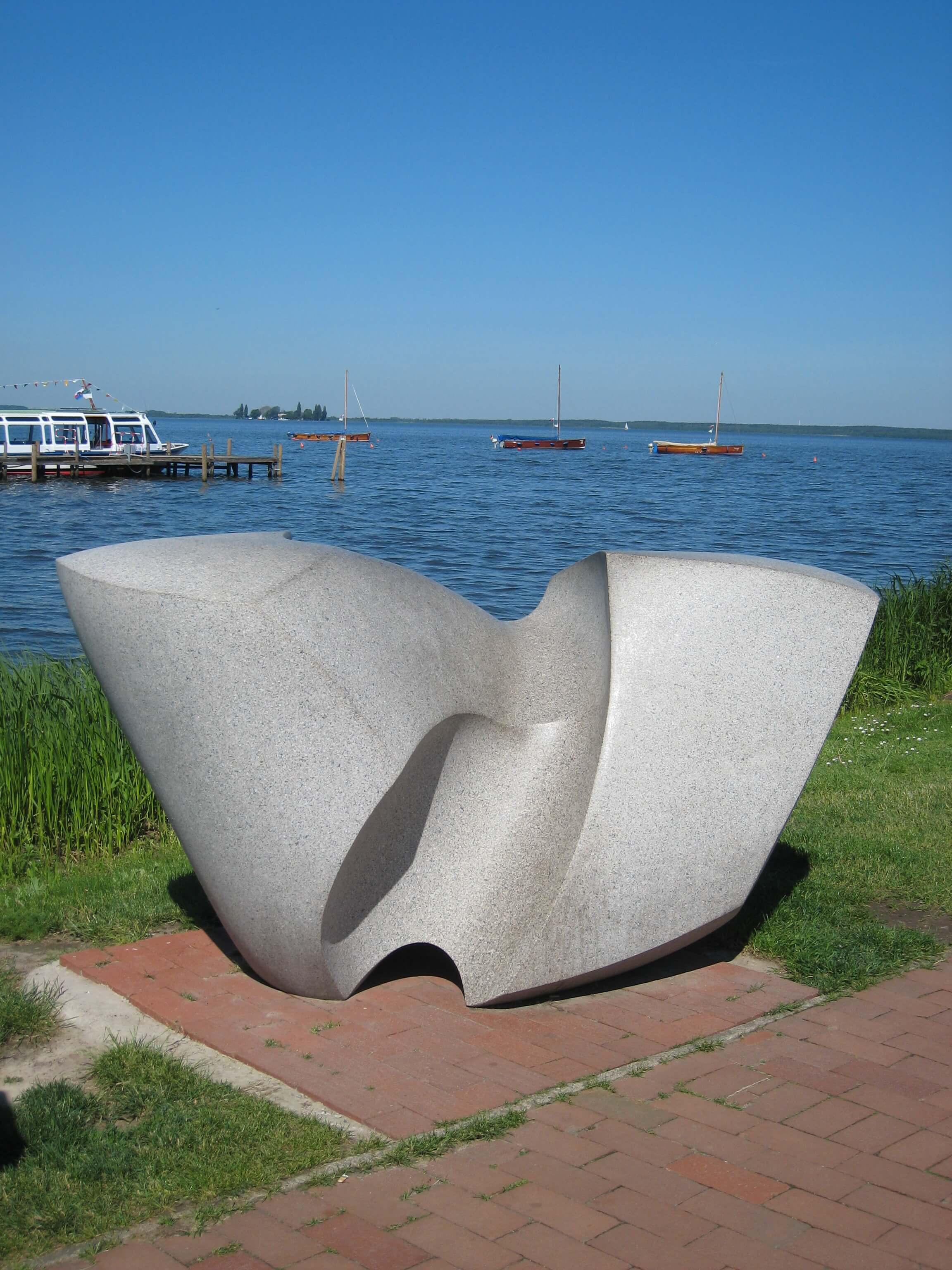 """""""Swingende Welle"""" von Werner C. Sauer"""