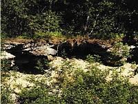 Gletscherschliff Gruben