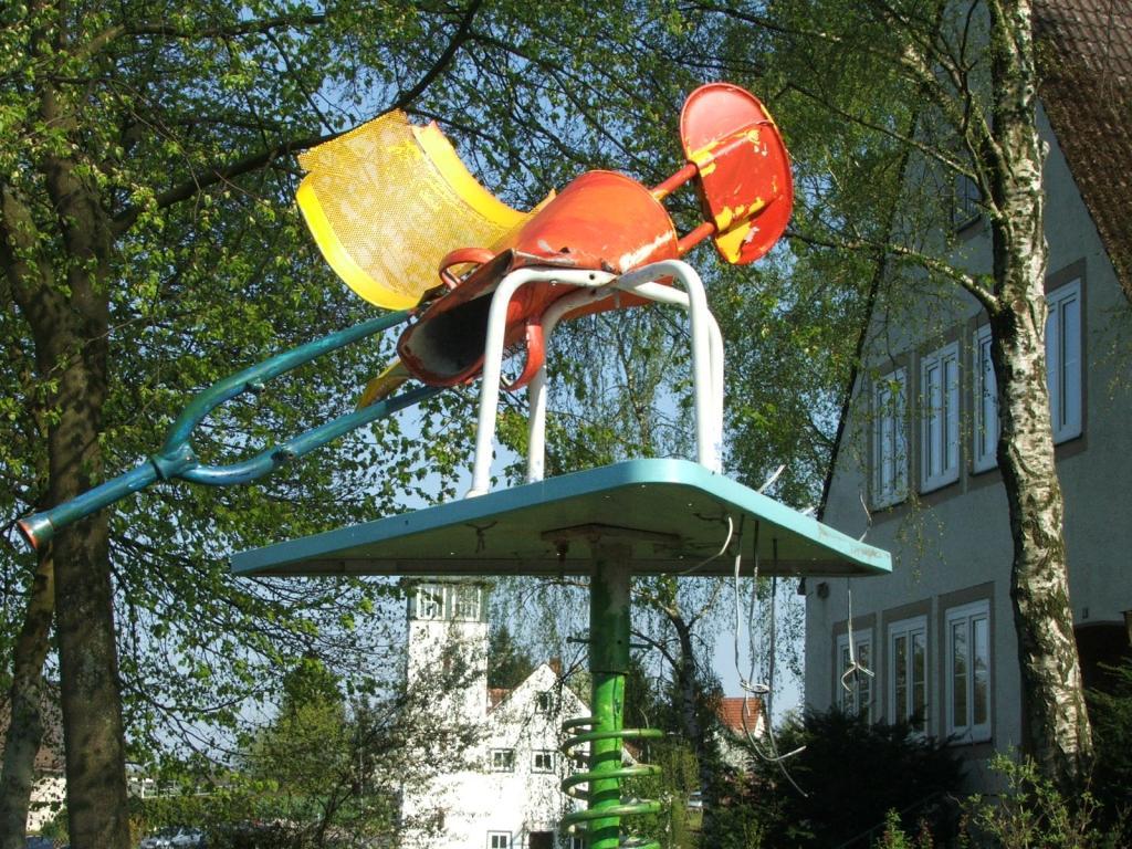 Skulptur Grundschule