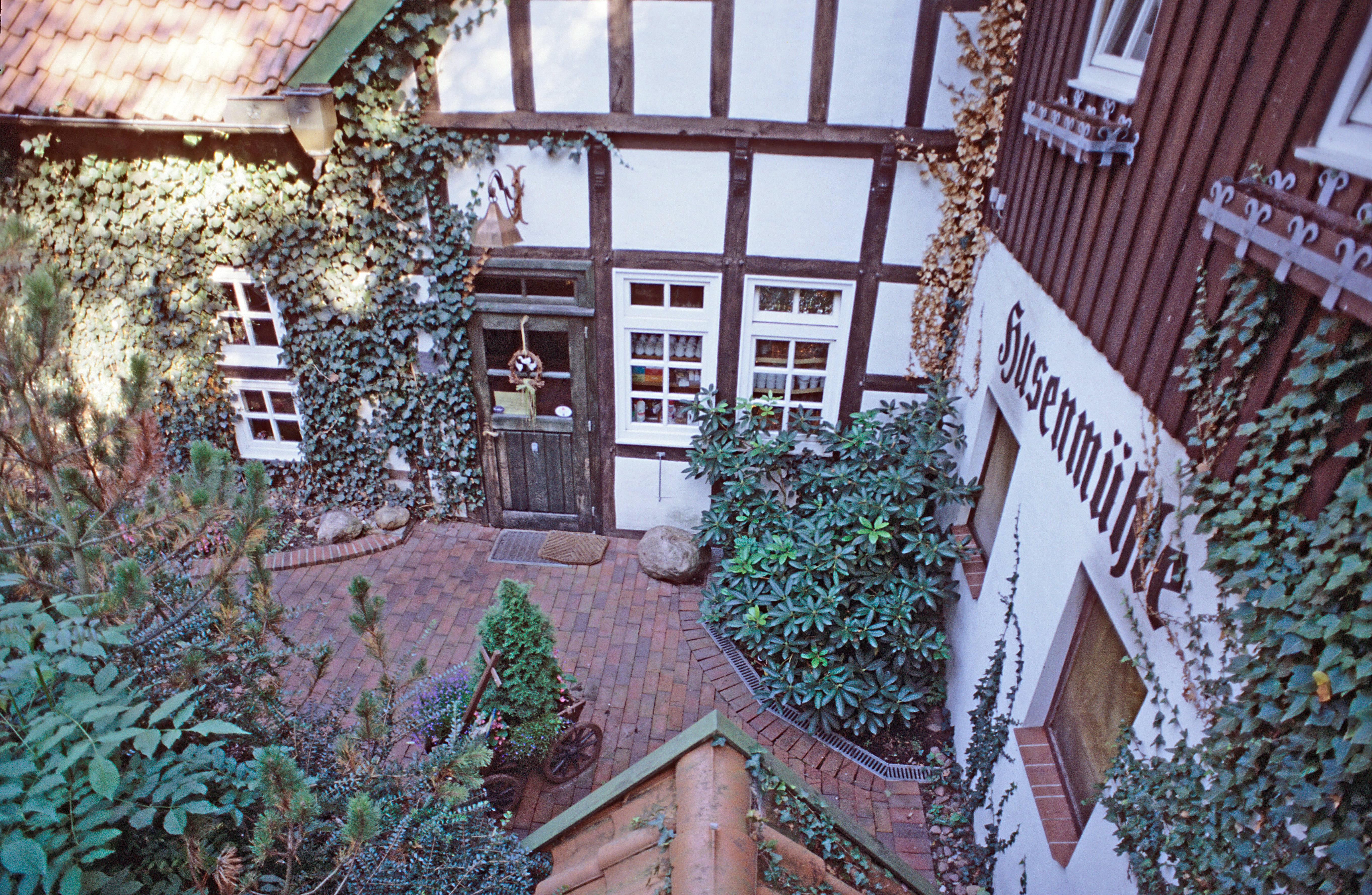 Husen Mühle - Innenhof