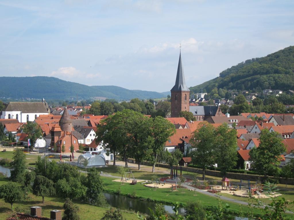 Blick auf die Lügder Altstadt