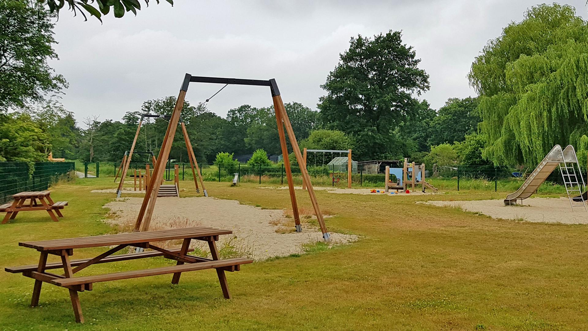 Rast auf dem Spielplatz in Mulmshorn
